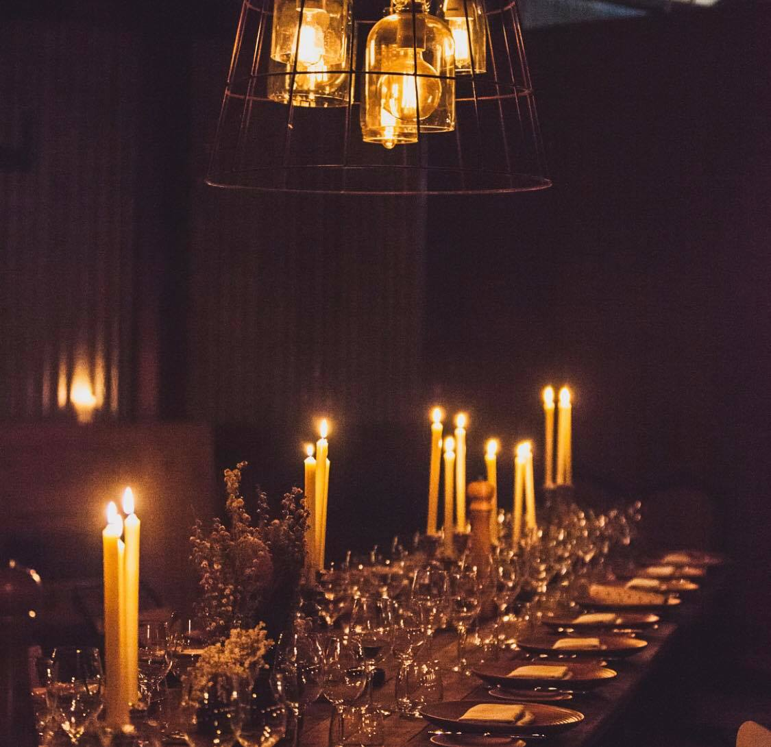 Long Table Dinner - A Long Table Dinner with The Black Brisbane mixes timeless sophistication with modern catering to craft a prefect atmosphere for a corporate function, presentation or general celebration.