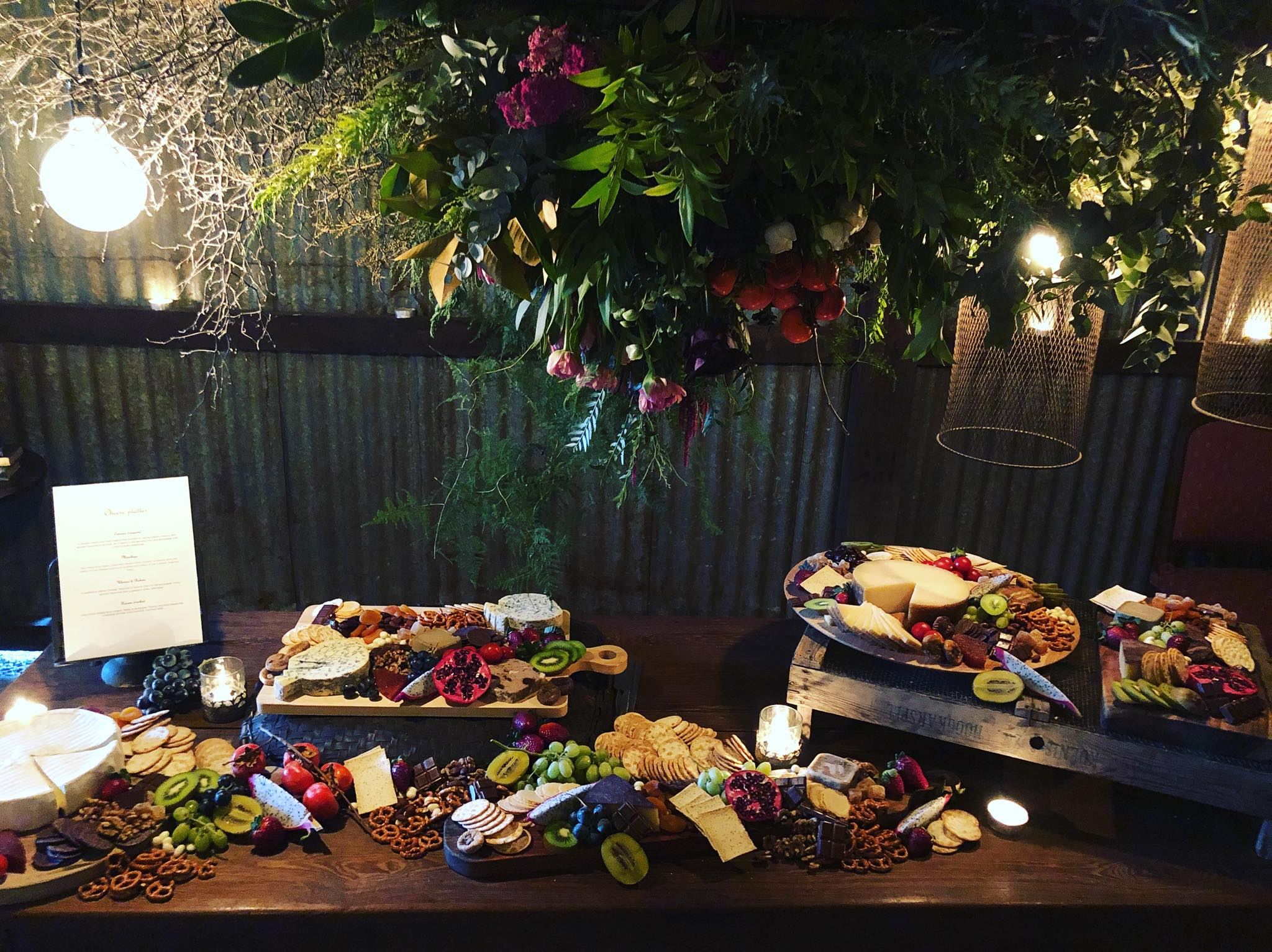 Cheese & Grazing Tables - Allowing guests to graze to their heart's content is a brilliant way to inject some personality into an event.