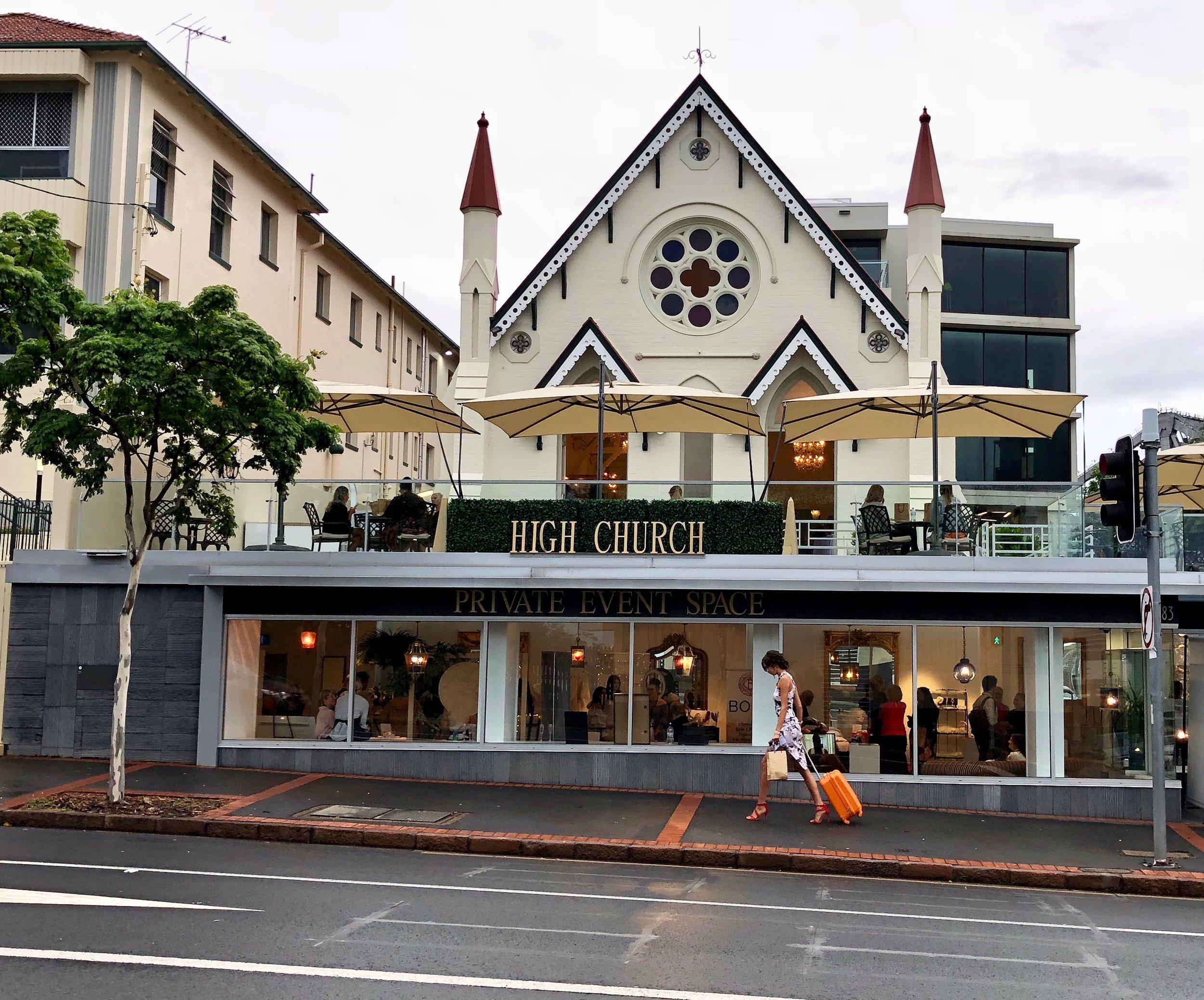 High Church Event Wedding Venue Brisbane Bridal Forum Wedding Fair Fashion Show Industry Panel Wedding Trends Inspiration www.thebridalforum.com.au