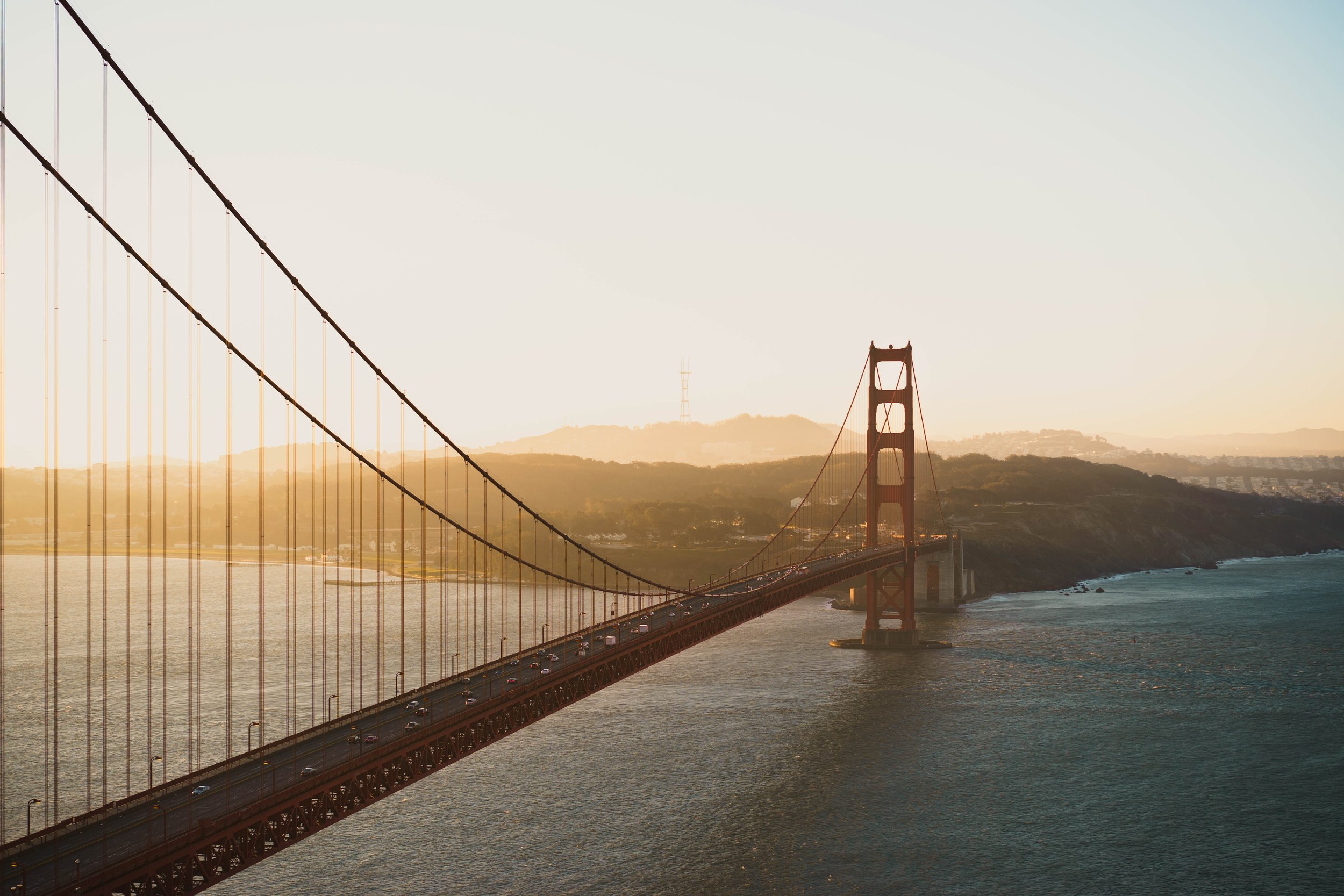 Beautiful shot of the Golden Gate Bridge by    Michael Pechardo