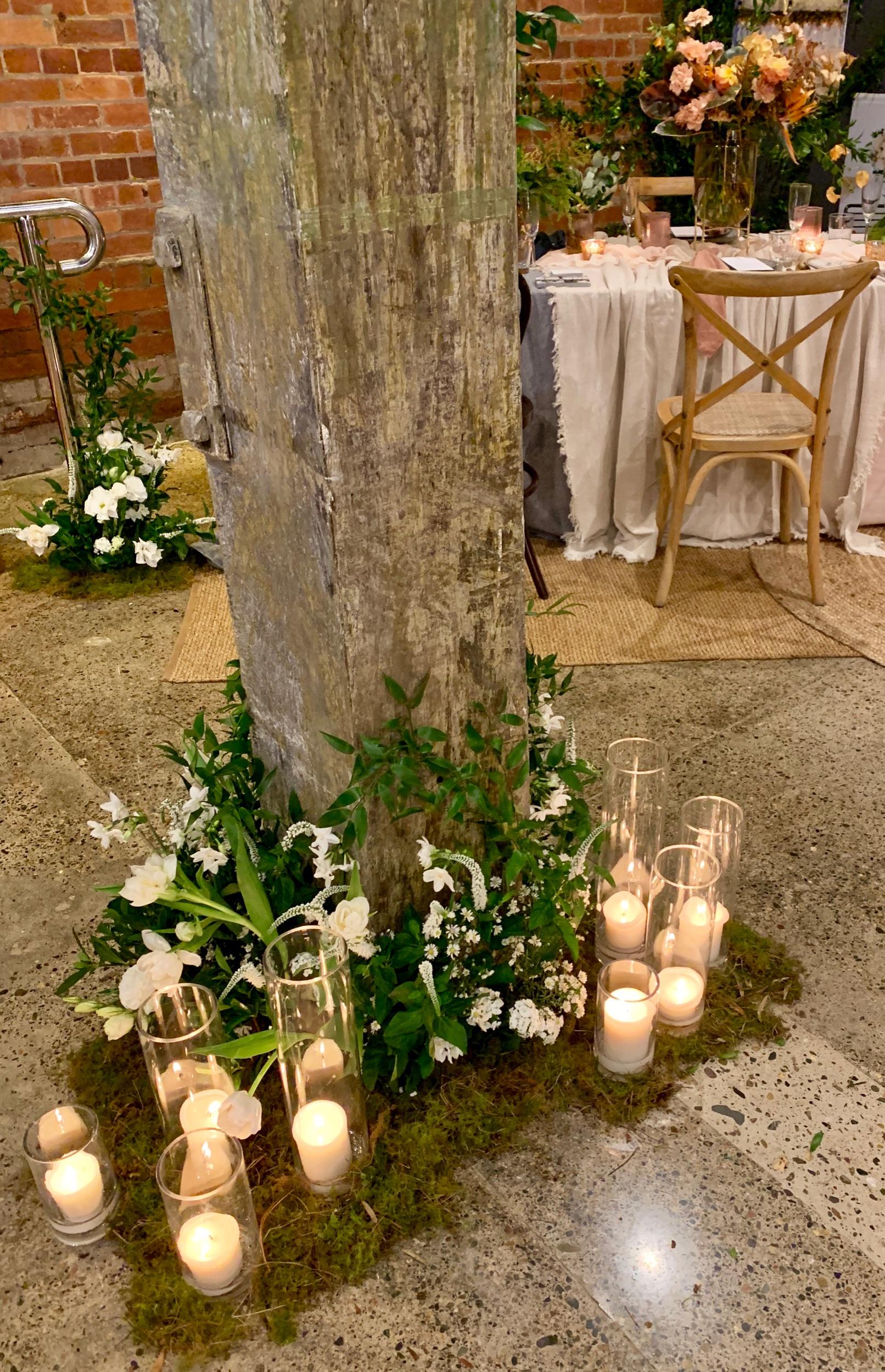 Wedding Harvest The Lushington Brisbane Candles Florals