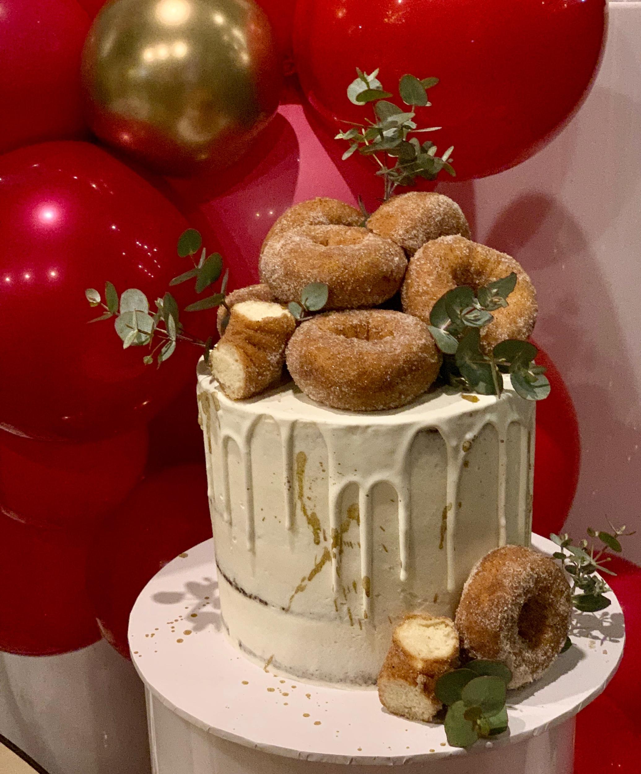 Wedding Harvest Confetti Cake Co Doughnut Wedding Cake