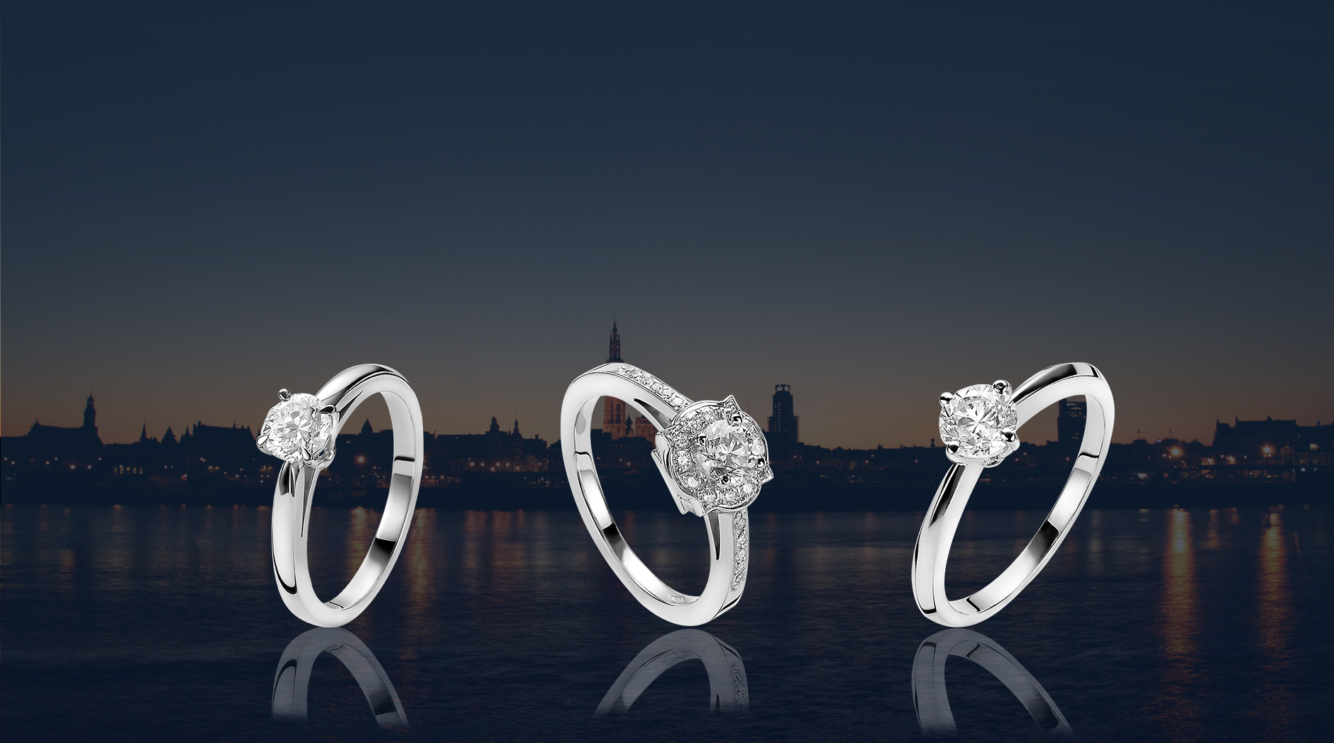 Stel nu uw verlovingsring samen -