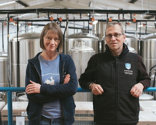 Libby & Rick, Kinnegar Brewing