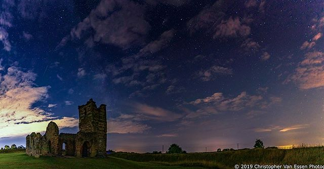 Knowlton Church  Full image. Swipeable Panorama available at @cvedesigns  #knowltonchurch #haunted