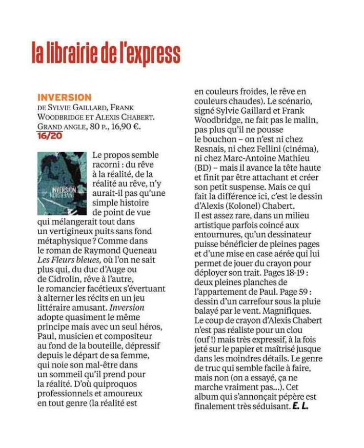 On en parle… - Article d'Eric Libiot in L'EXPRESS - Juin 2018