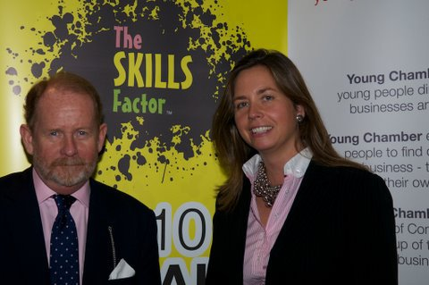 Skills Factor Sally Low and Brendan Bruce