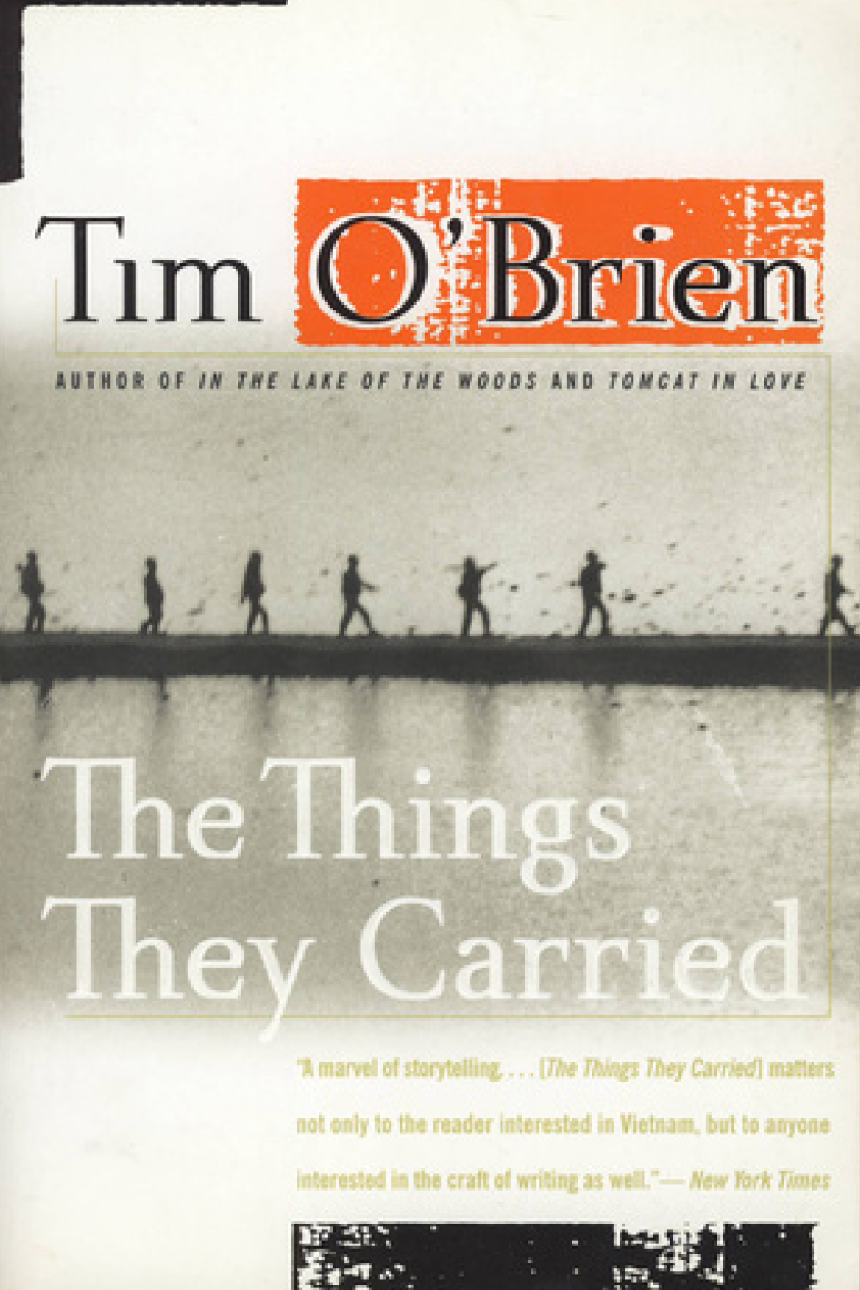 "The Things They've Carried,   Tim O'Brien   "" A brilliant way to talk about the Vietnam War through the eyes of the soldiers - or directly through the author's eyes. Tim O'Brien managed to create a very personal and intimate relationship between the characters (who many are semi-autobiographical) and the readers - allowing us to dive deep into their minds and feelings. If you are after new sensations.. I highly recommend this book.""    Mathilde Van Brussel,  Communications Assistant"