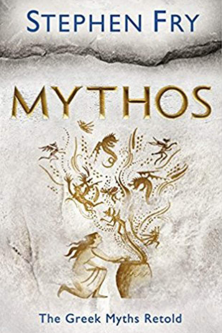 "Mythos: The Greek Myths Retold   ,   Stephen Fry   "" I have always been fascinated by Greek mythology, and Stephen Fry's retelling adds a witty, modern twist to these epic tales of old. (There's also the companion    Heroes    volume, which I still have to read). ""   Ana Oliveira,  Communications Manager"