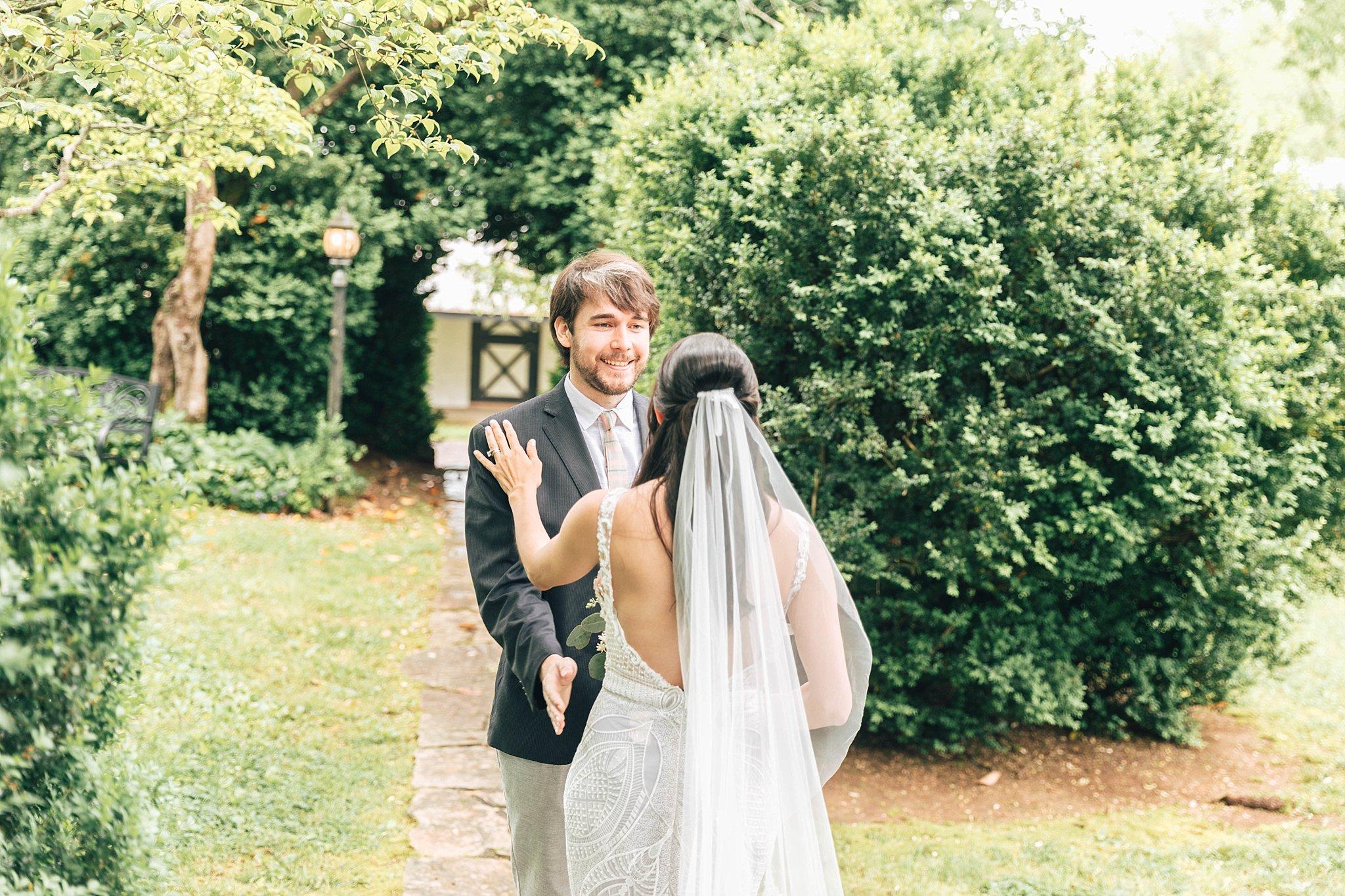 Virginia Wedding First Look