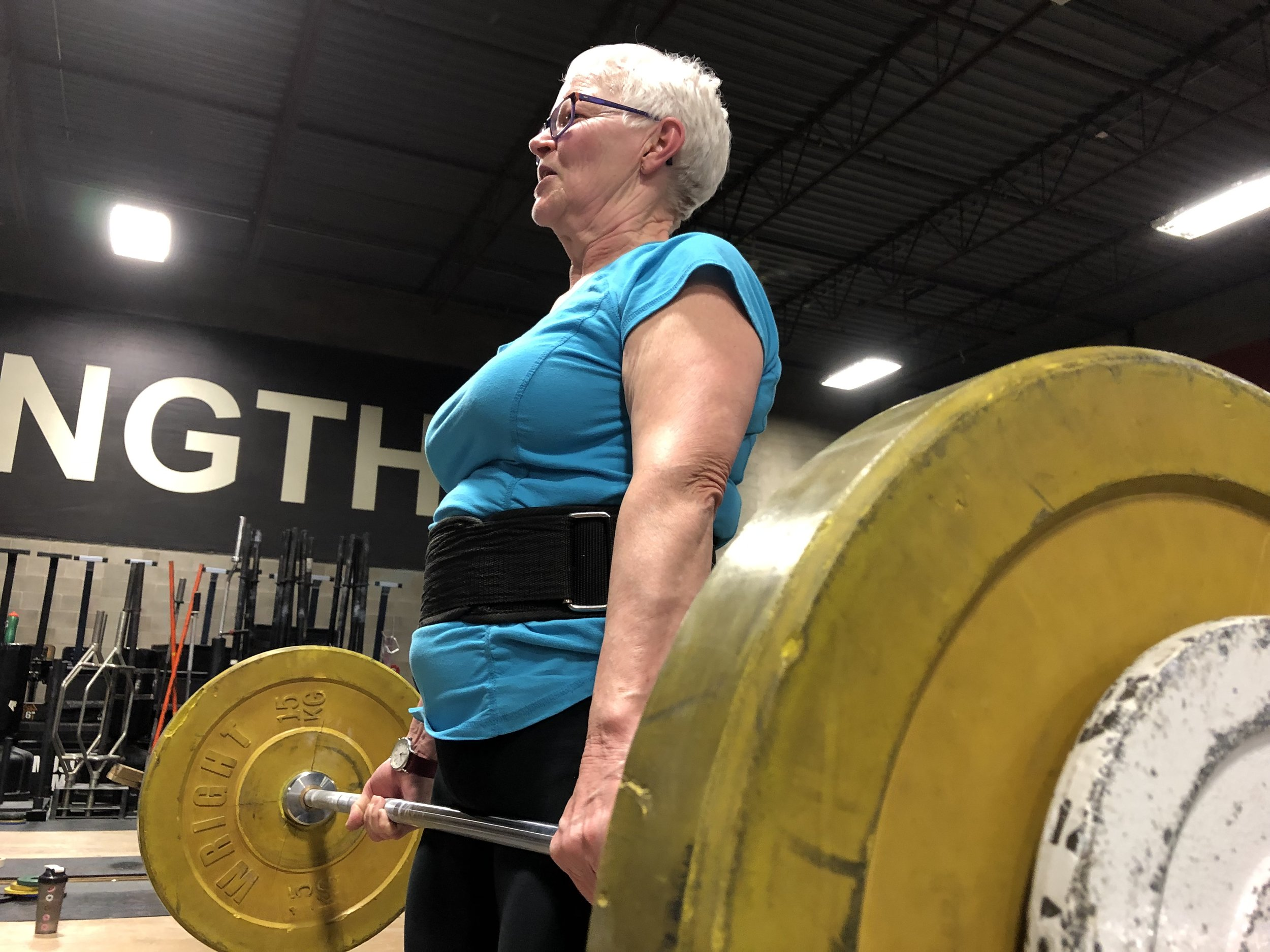 Sunday Strength Stories #1: Trudy -