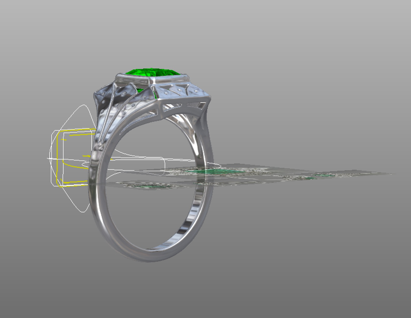Copy of Making the ring in the cad program