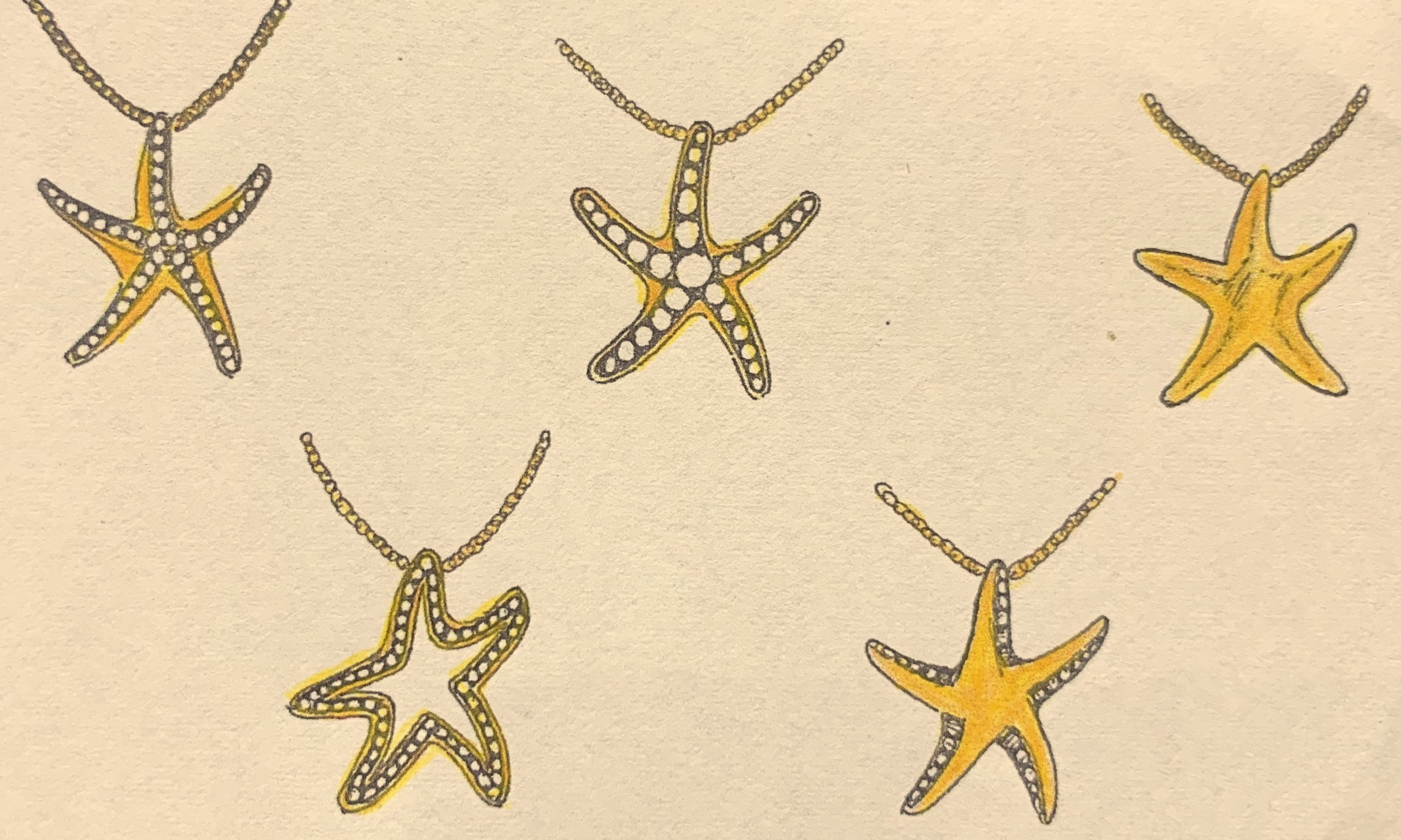 Solid and open designs incorporating small diamonds.