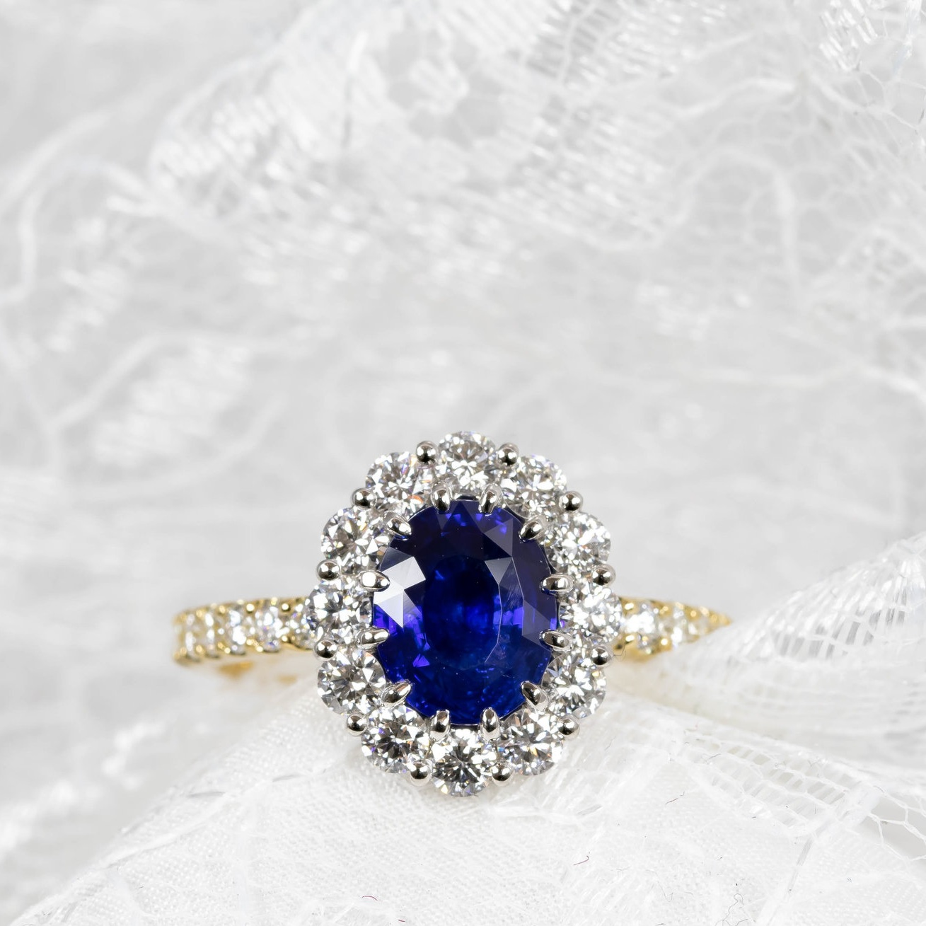 Sapphires and Tanzanites -