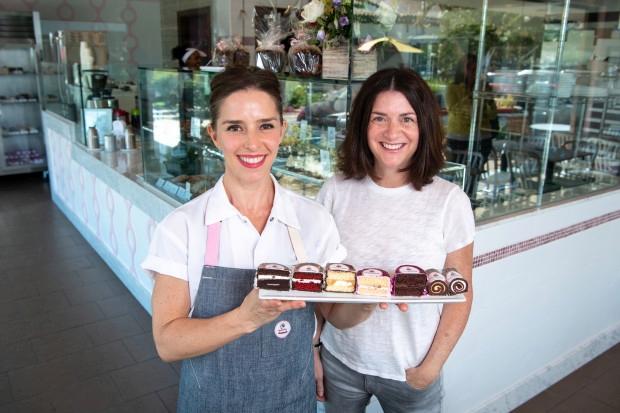 Cake Monkey Co-Owners Elizabeth Belkind and Lisa Olin