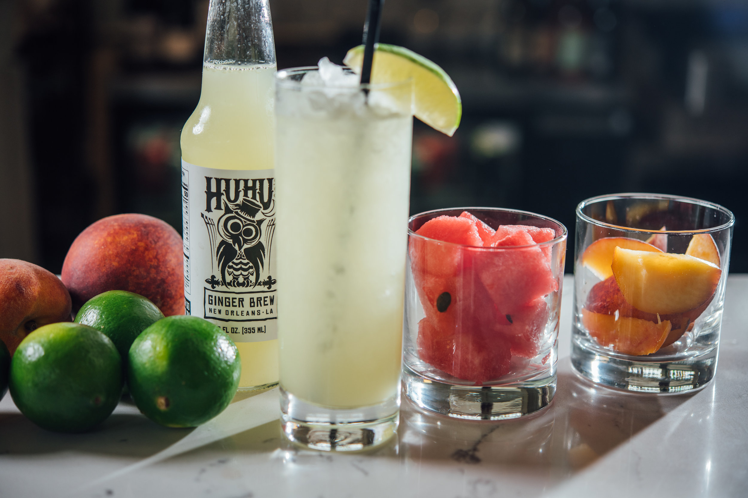 Huhu's Ginger Brew: good on its own, great in a cocktail