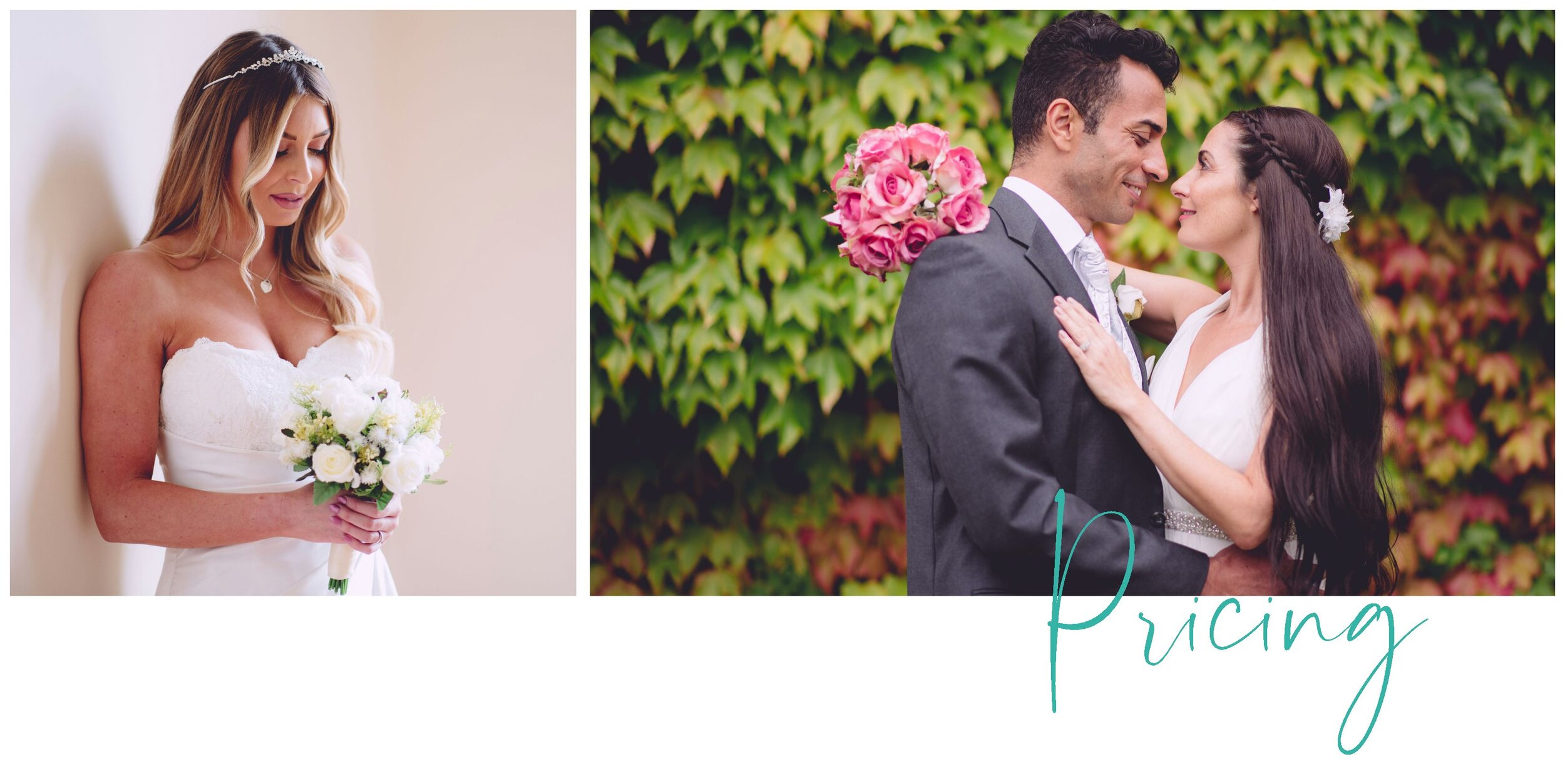 Thomas Lowe Wedding Photography Pricing