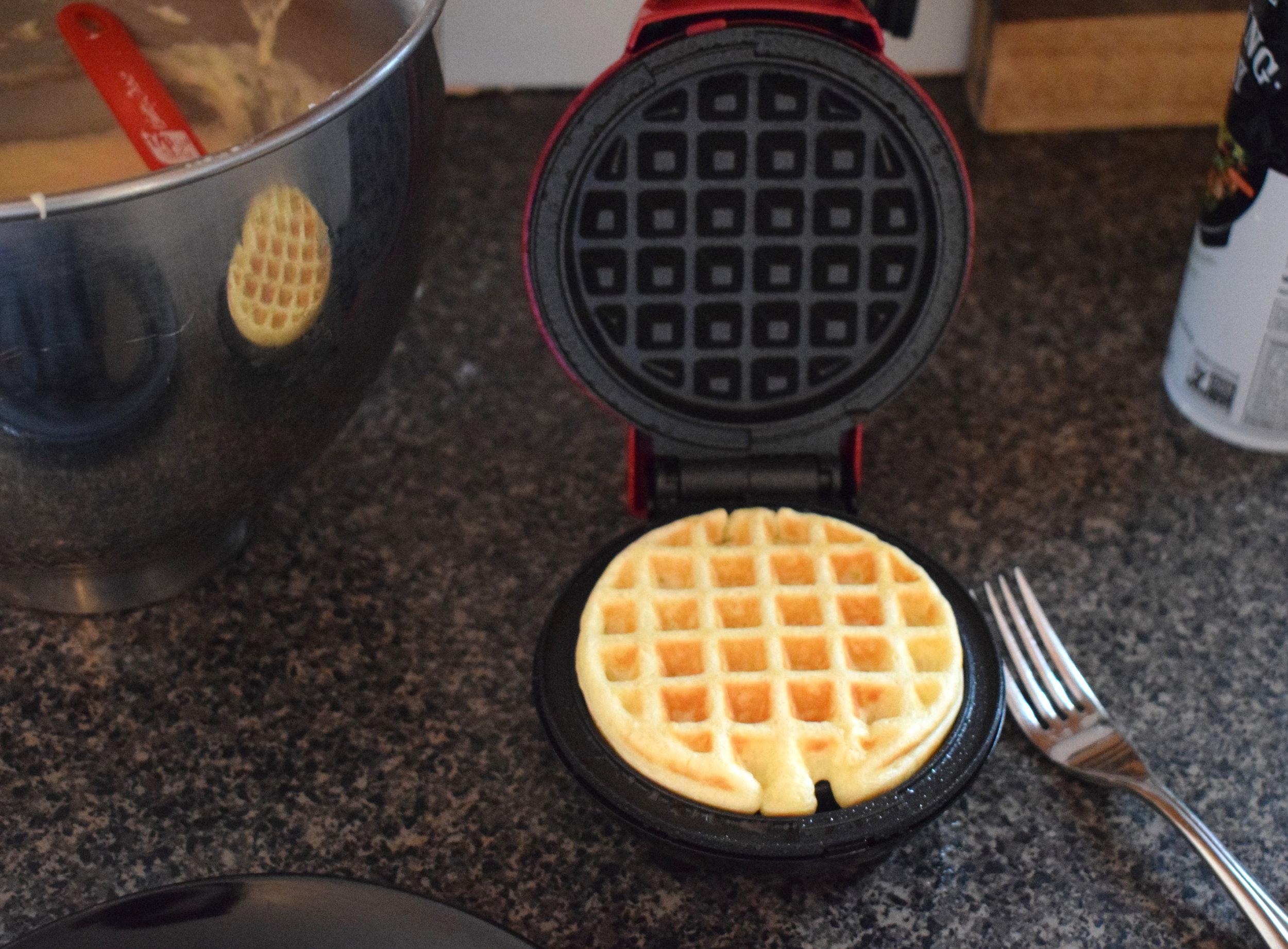 fluffy baby belgian waffles sassi kitchen