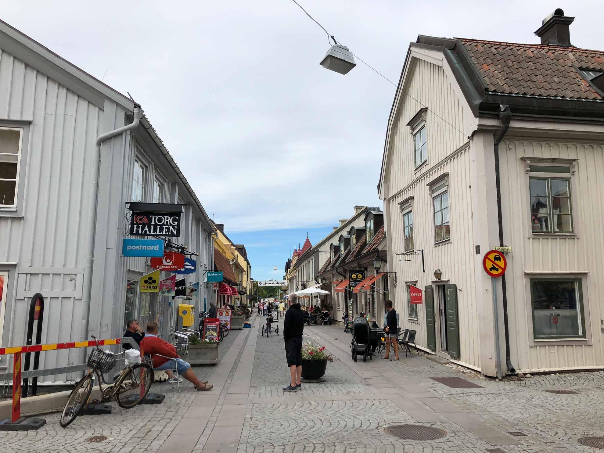 Kurz vor Stockholm – der Ort Marienfred.