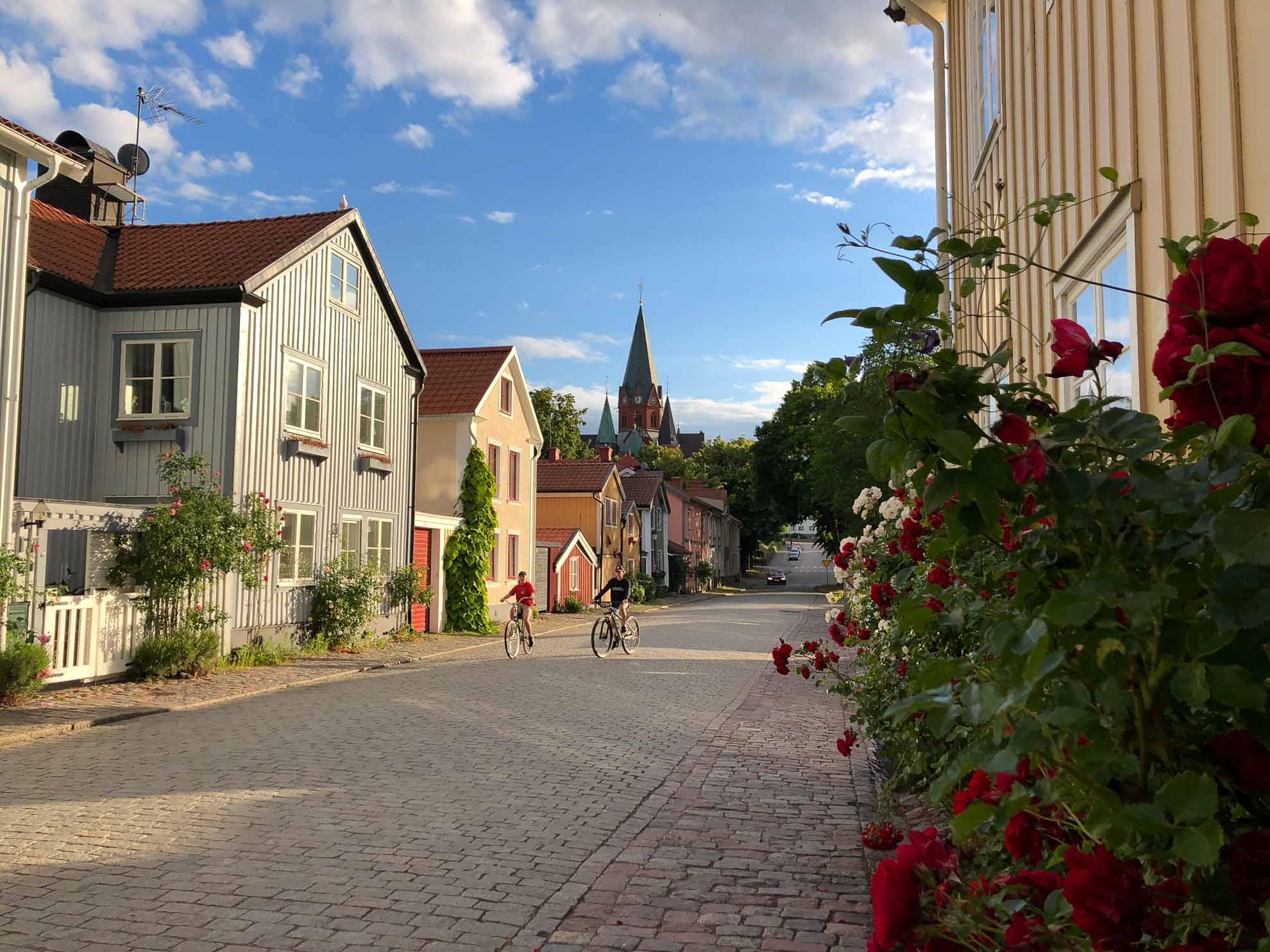Den Abend verbringen wir in Västervik an der schwedischen Ostküste.