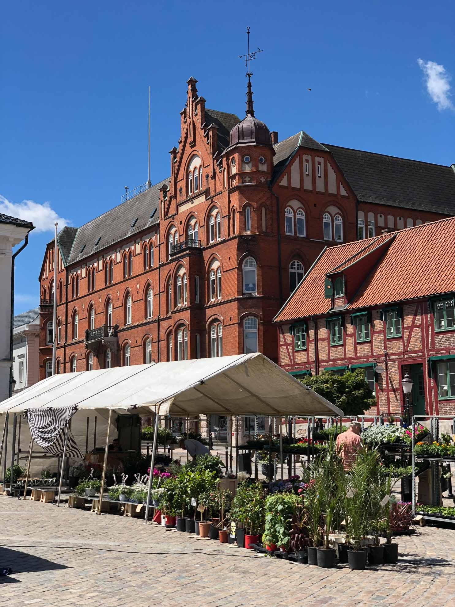 Auch Karlskrona, die Barockstadt am Wasser, liegt auf unserer Reiseroute.