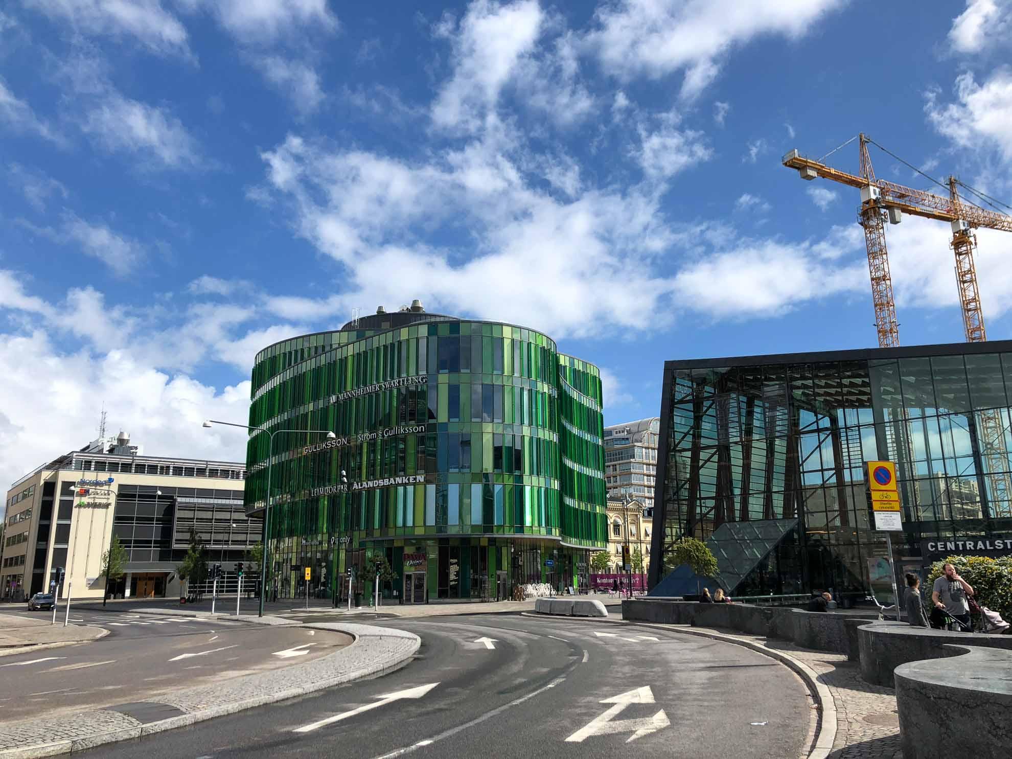 Das erste Ziel nach Malmö heißt Ystad