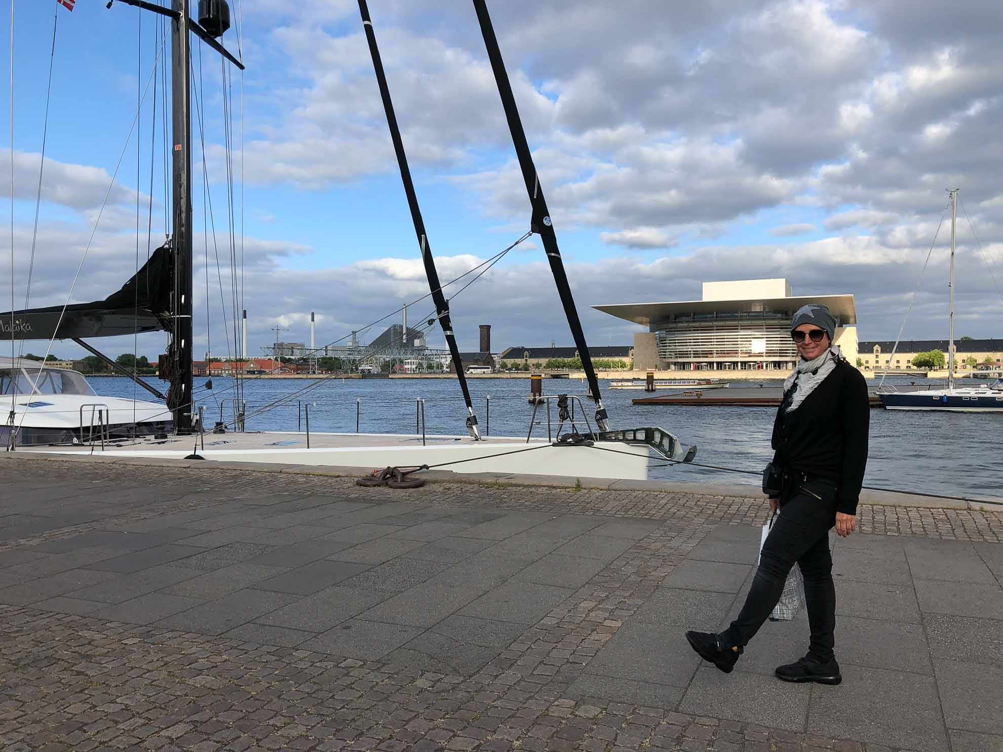Malaika liegt am Amaliehavn, direkt gegenüber der Königlichen Dänischen Oper