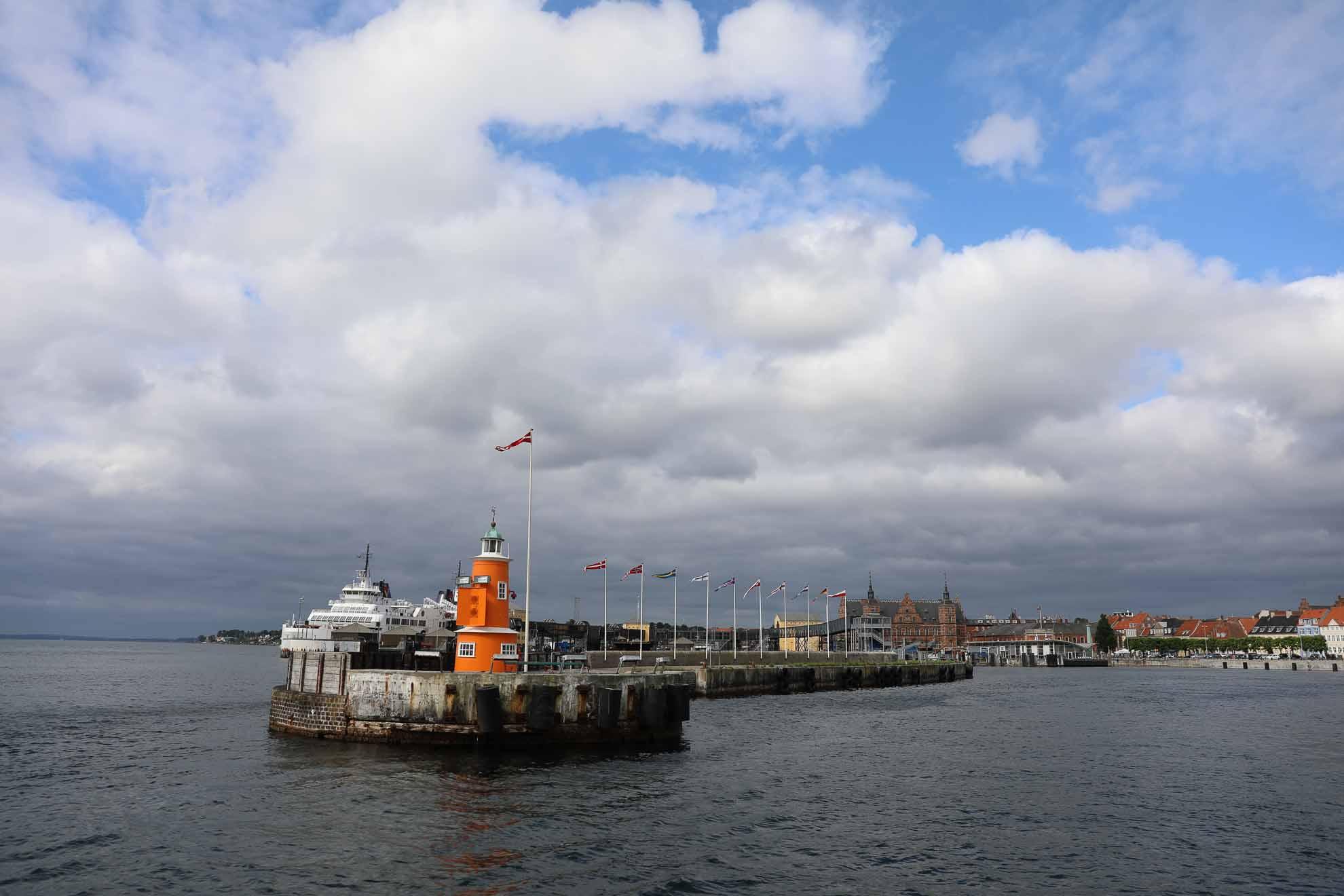 Das Ziel liegt 25 Seemeilen weiter südlich im Öresund – Kopenhagen