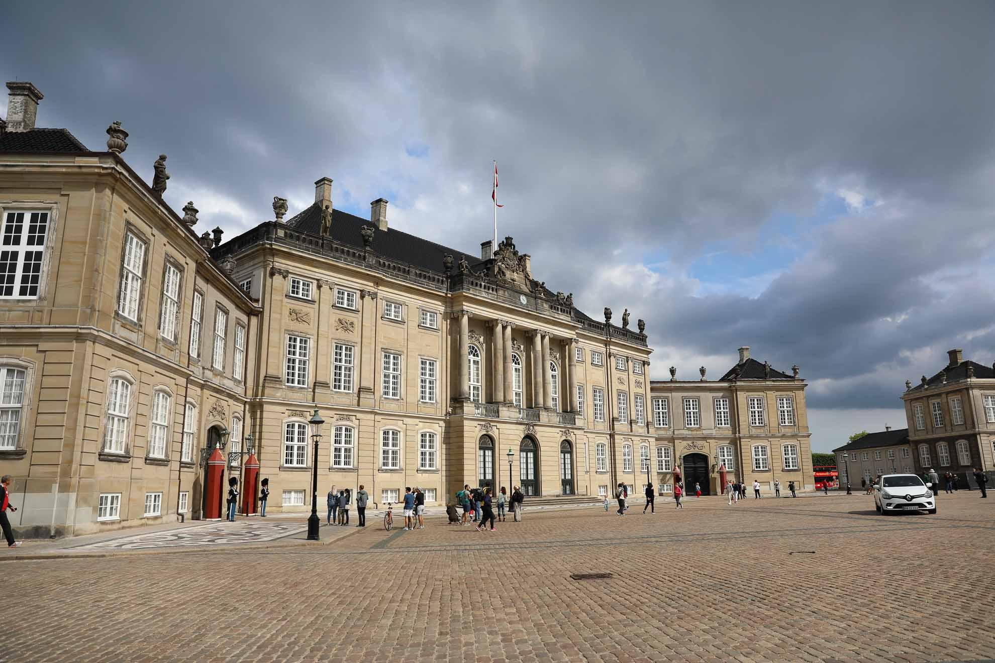 Impressionen der Stadt und von Amalienborg