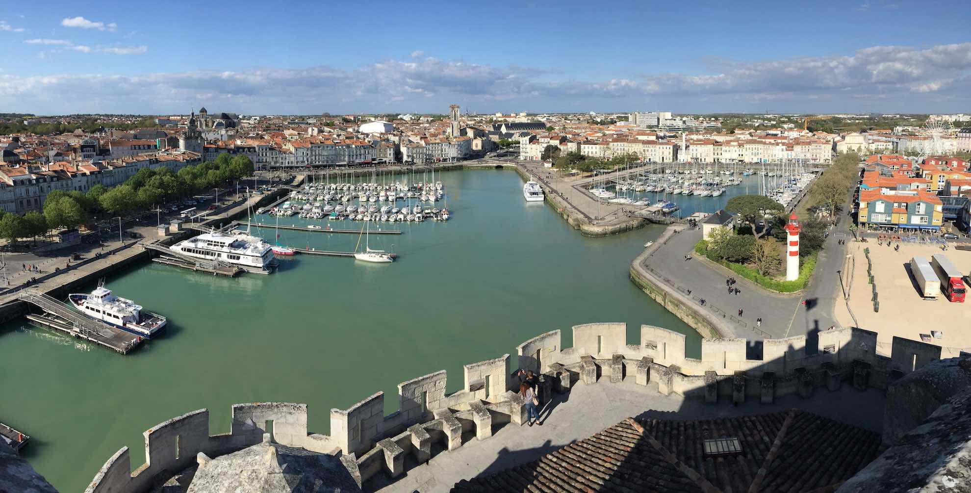 Im 12. Jahrhundert war La Rochelle der grösste Hafen Frankreichs am Atlantik