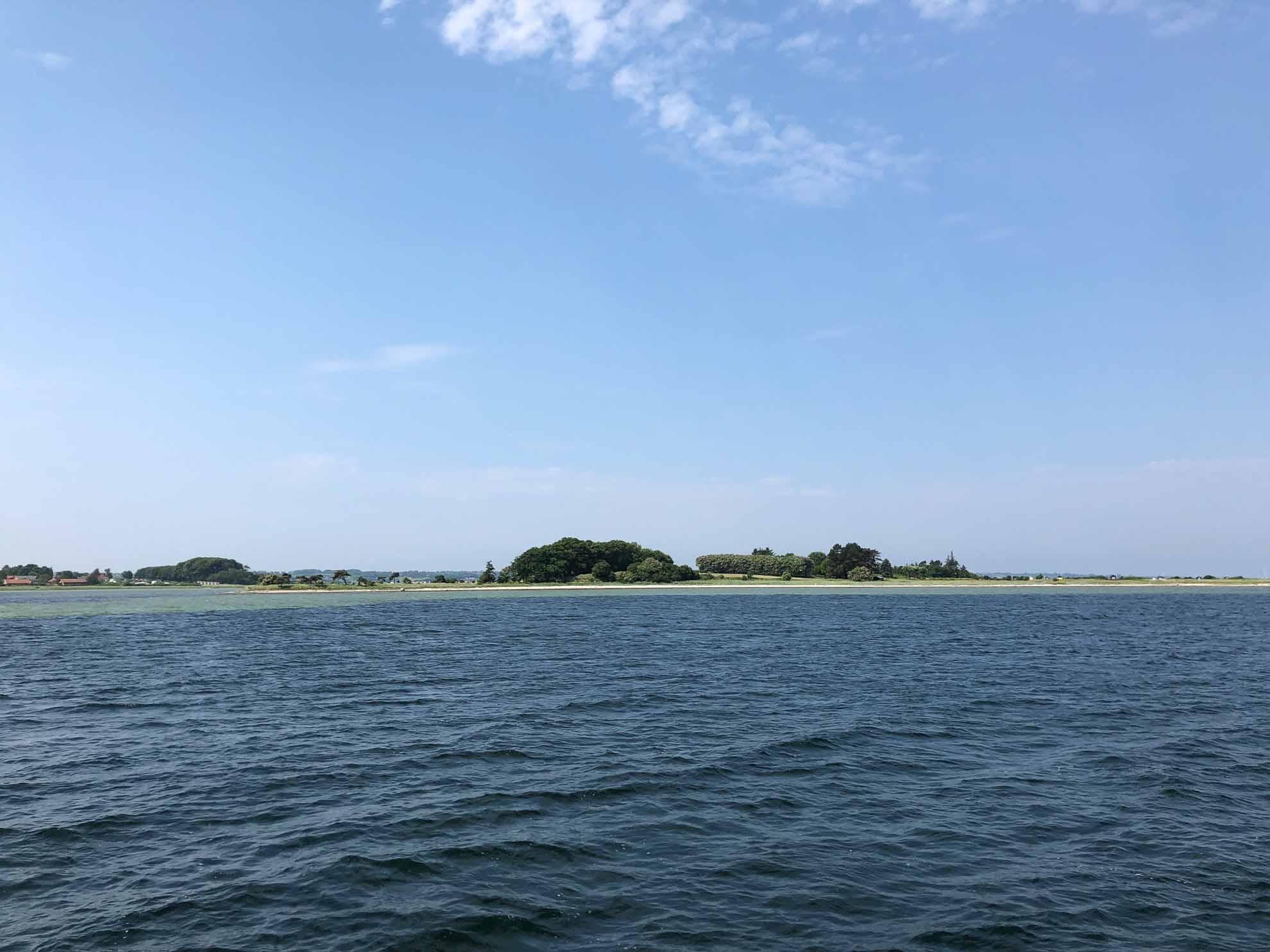 ... und legen gut 15 Seemeilen durch die Dänische Südsee nach Faaborg zurück.