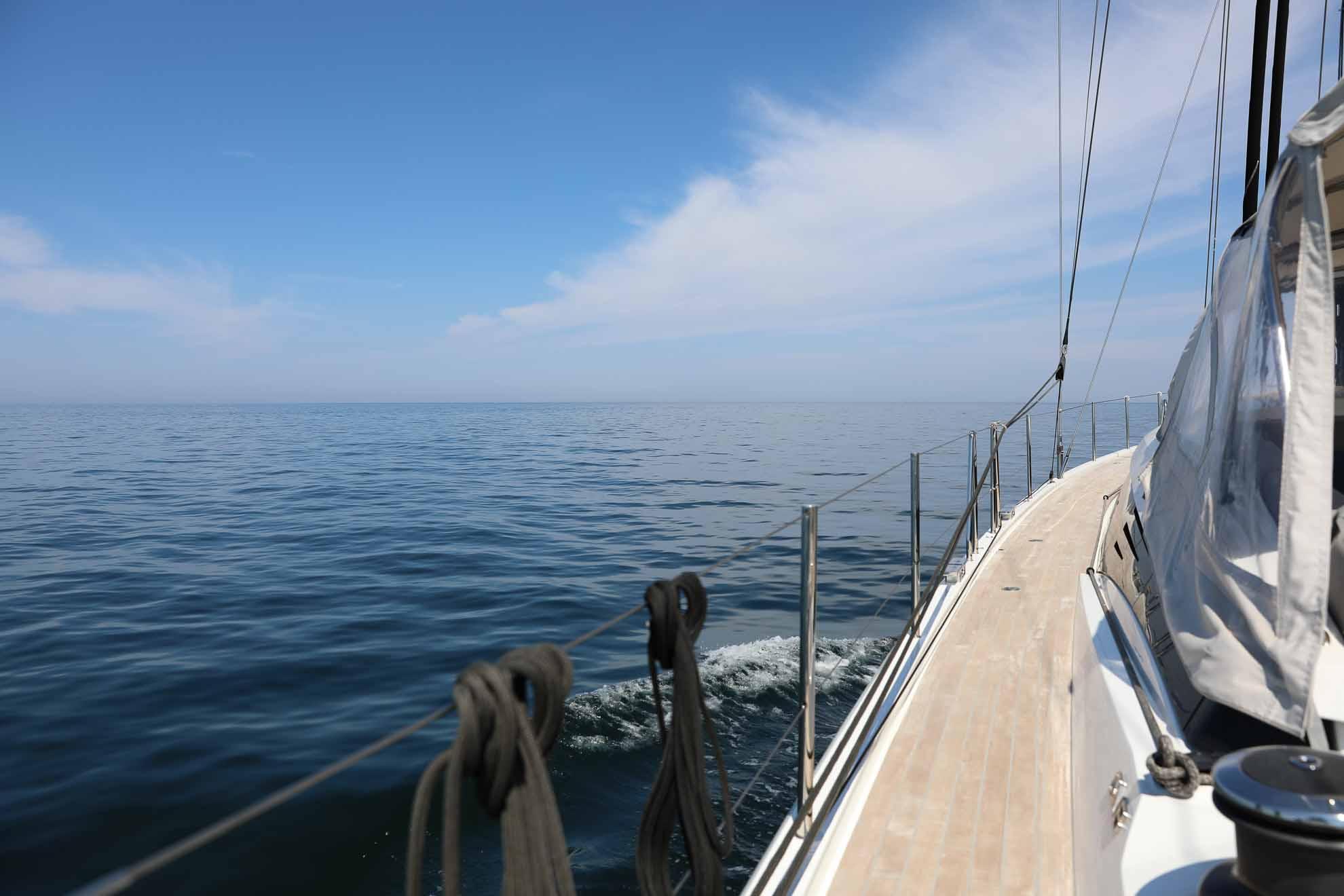 ... nach Horuphav auf der dänischen Seite der Flensburger Förde.