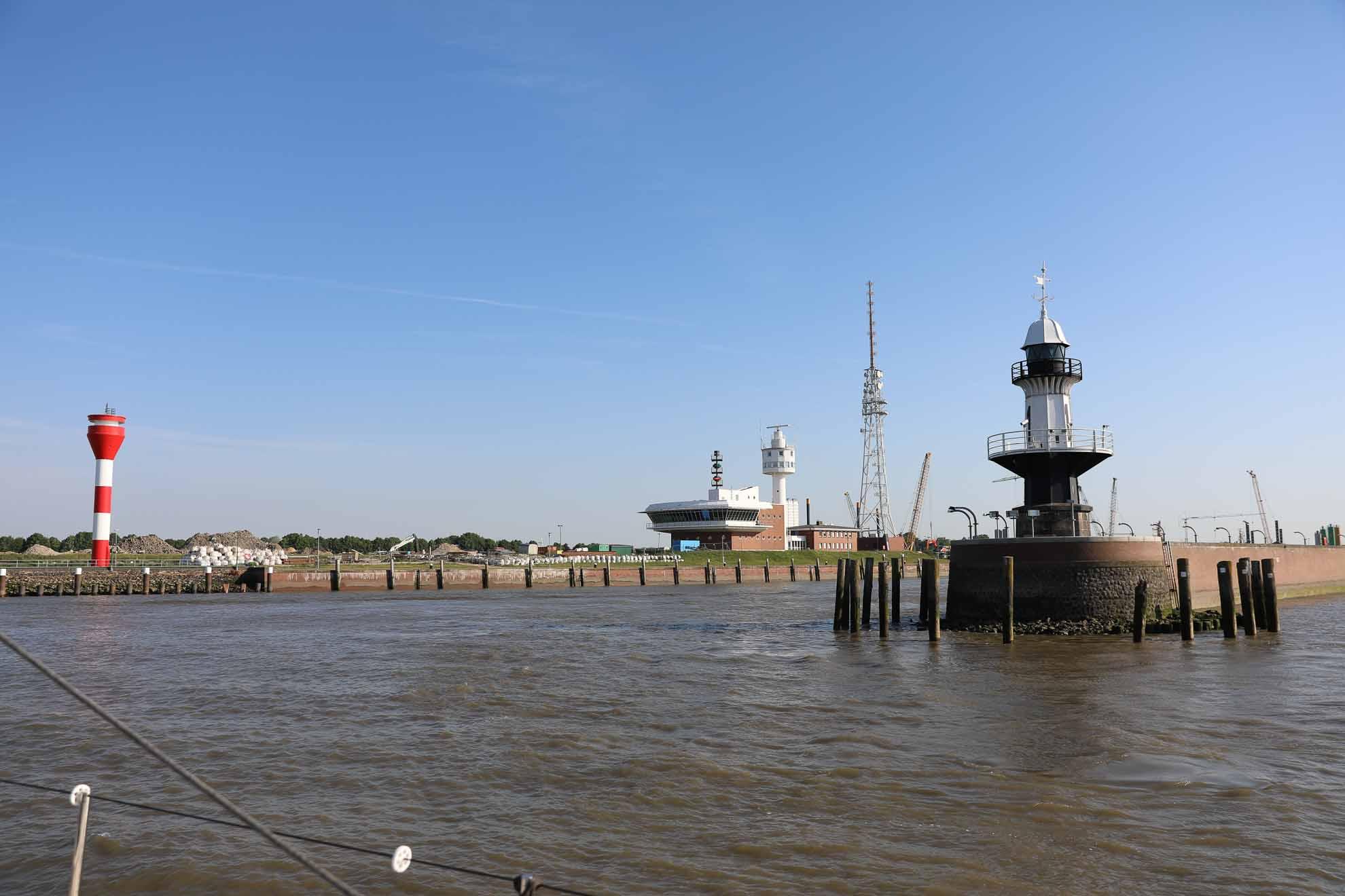Die Fahrt durch den Nord-Ostsee-Kanal in die Ostsee steht an.