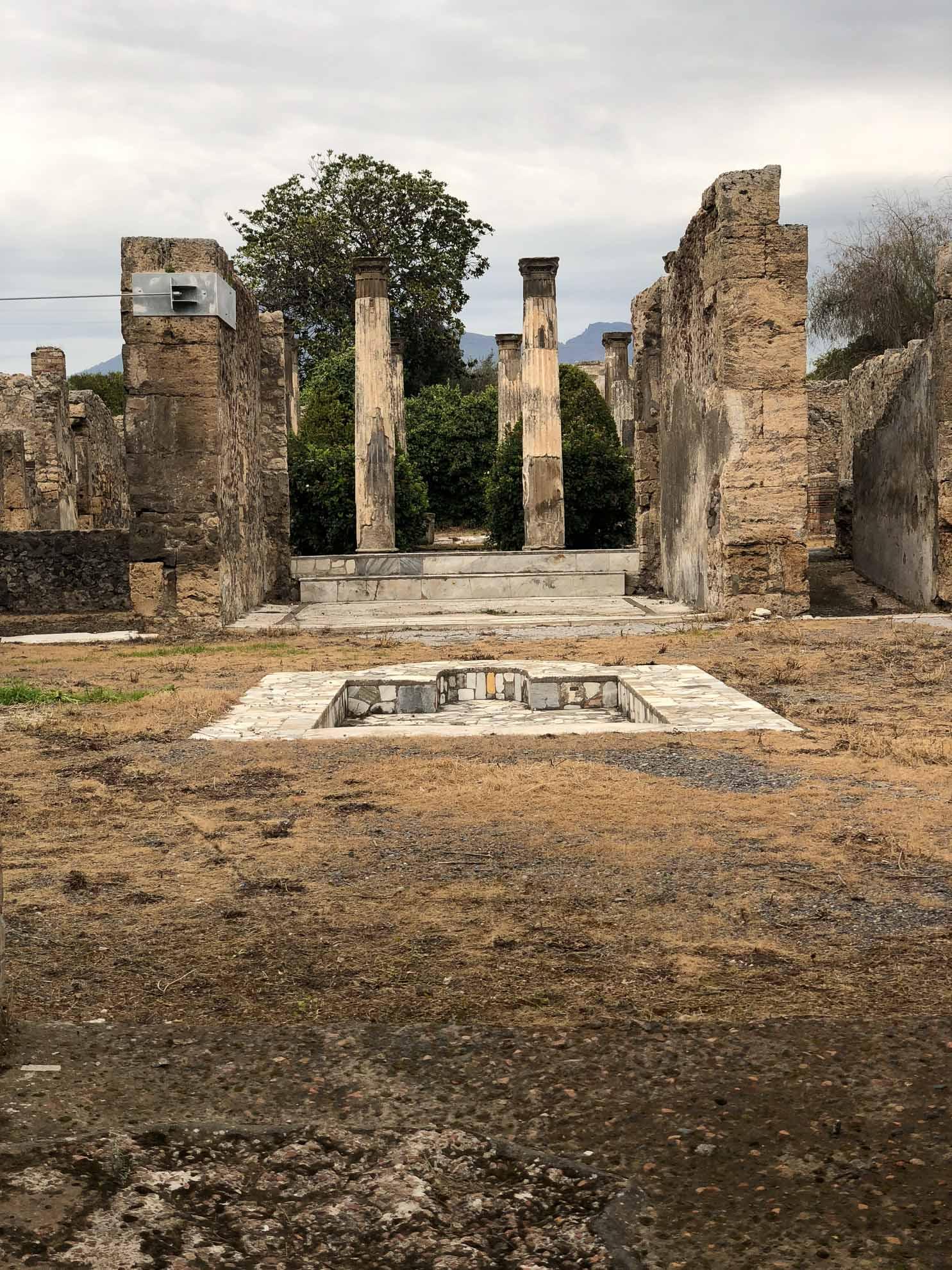 Noch immer sind nicht alle Teile der verschütteten Stadt freigelegt, zudem ist der Erhalt der Ruinen schwierig und aufwändig.