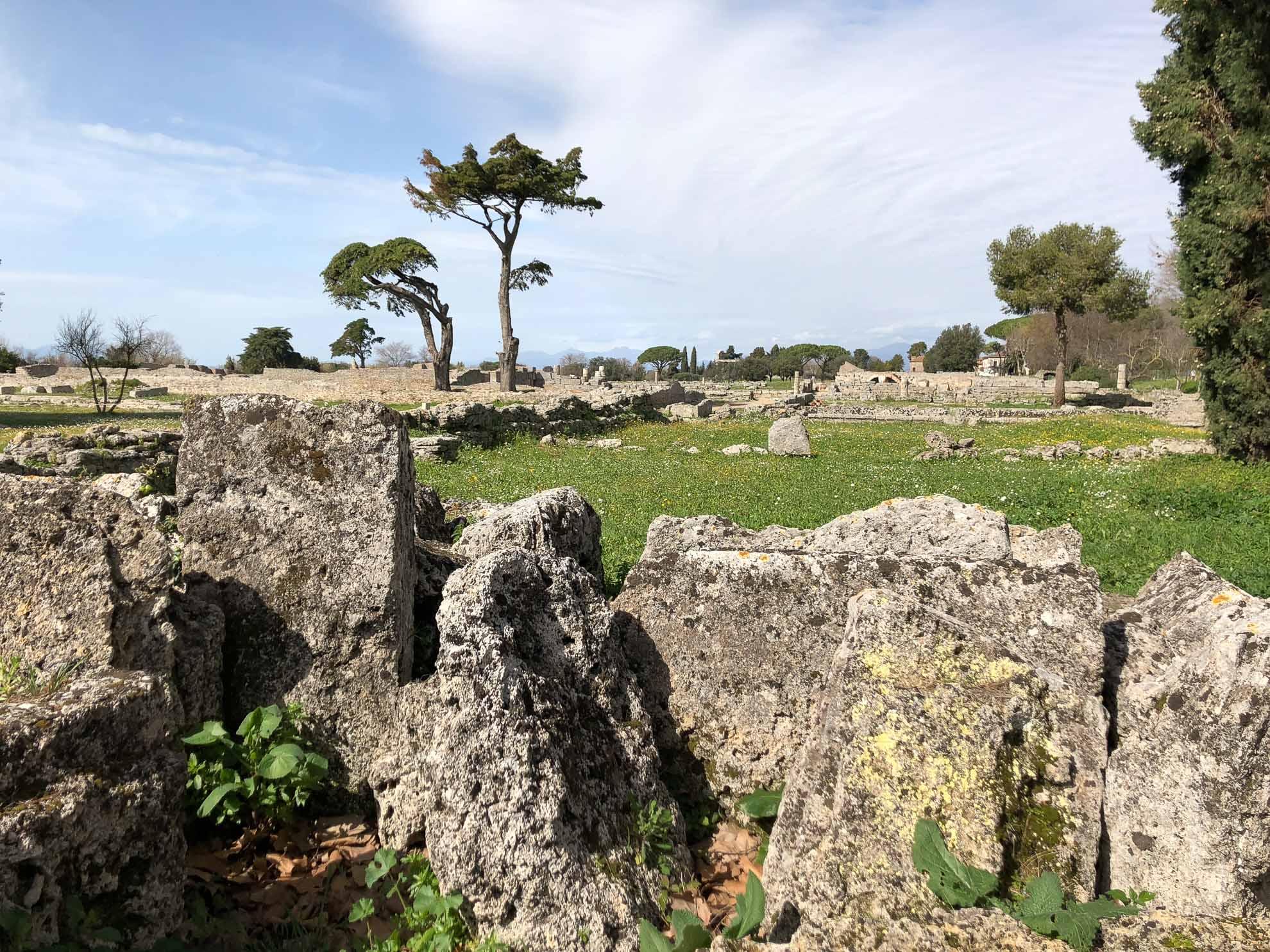 Auch diese griechische Ruinenstädte ist UNESCO-Weltkulturerbe.