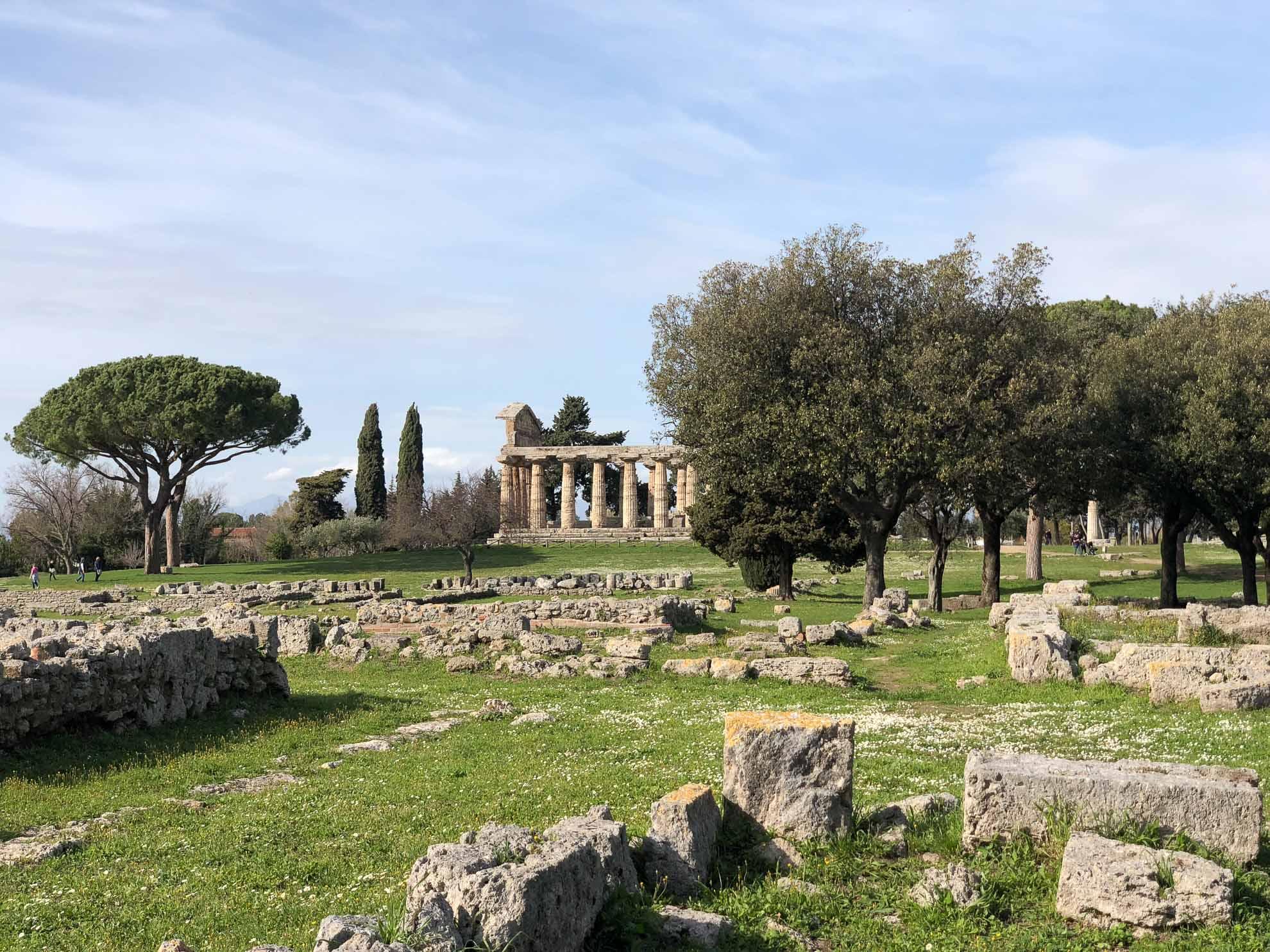 """Peastum wurde ursprünglich unter dem Namen """"Poseidonia"""" von griechischen Siedlern gegründet."""