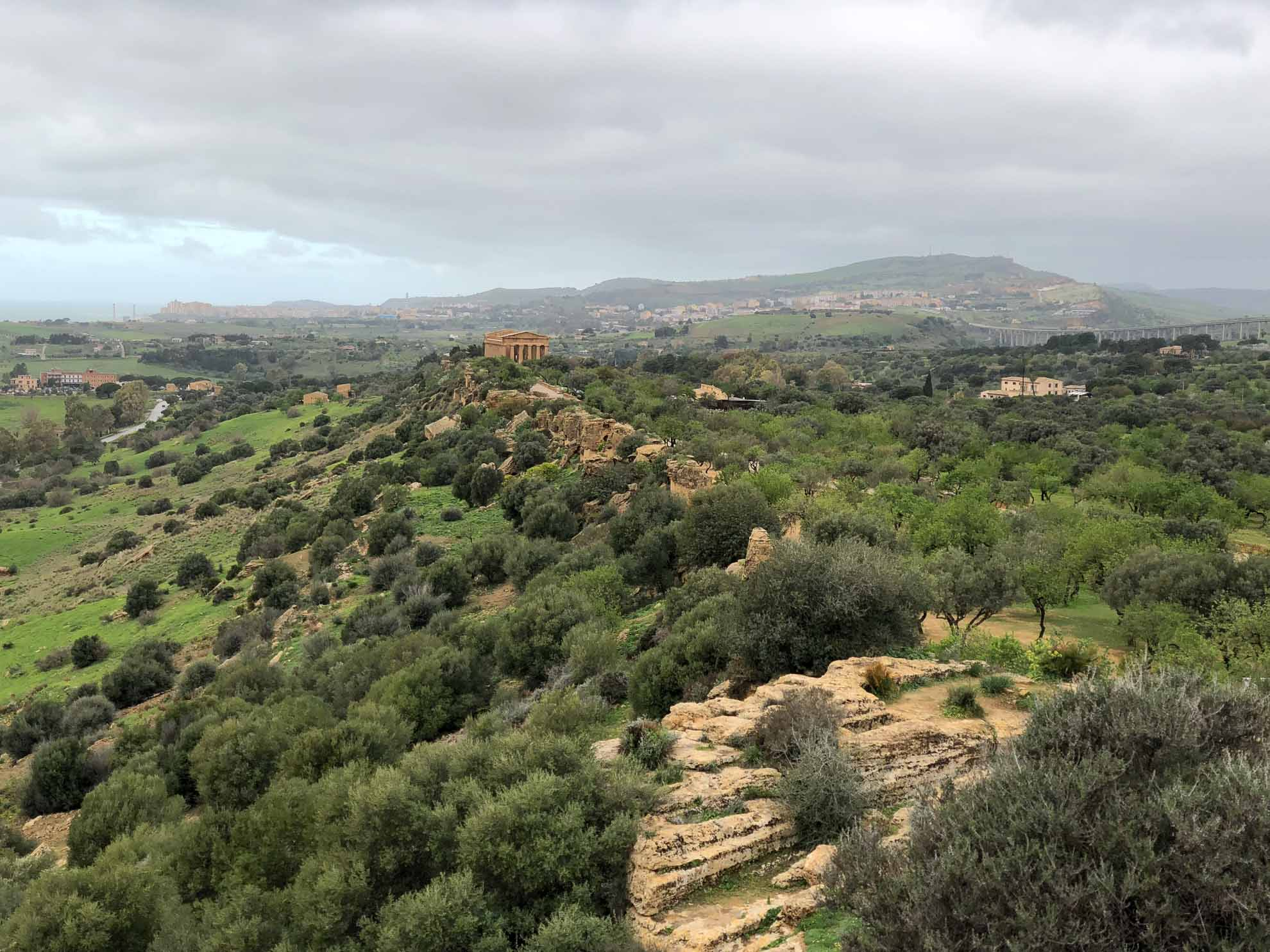 Zunächst die Tempel von Agrigent.