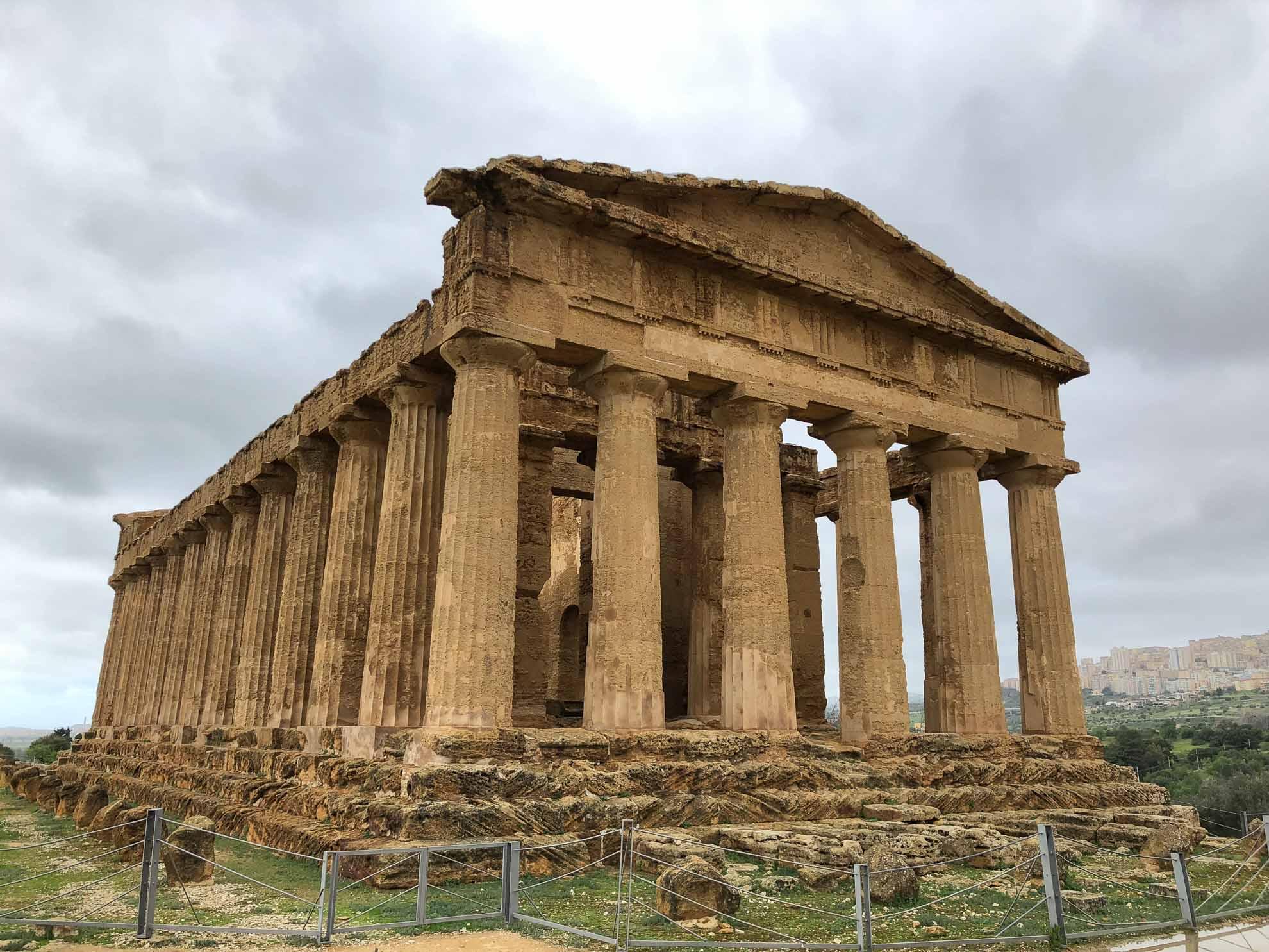 Der Concordia Tempel zählt zu den besterhaltenen Tempeln der griechischen Antike.