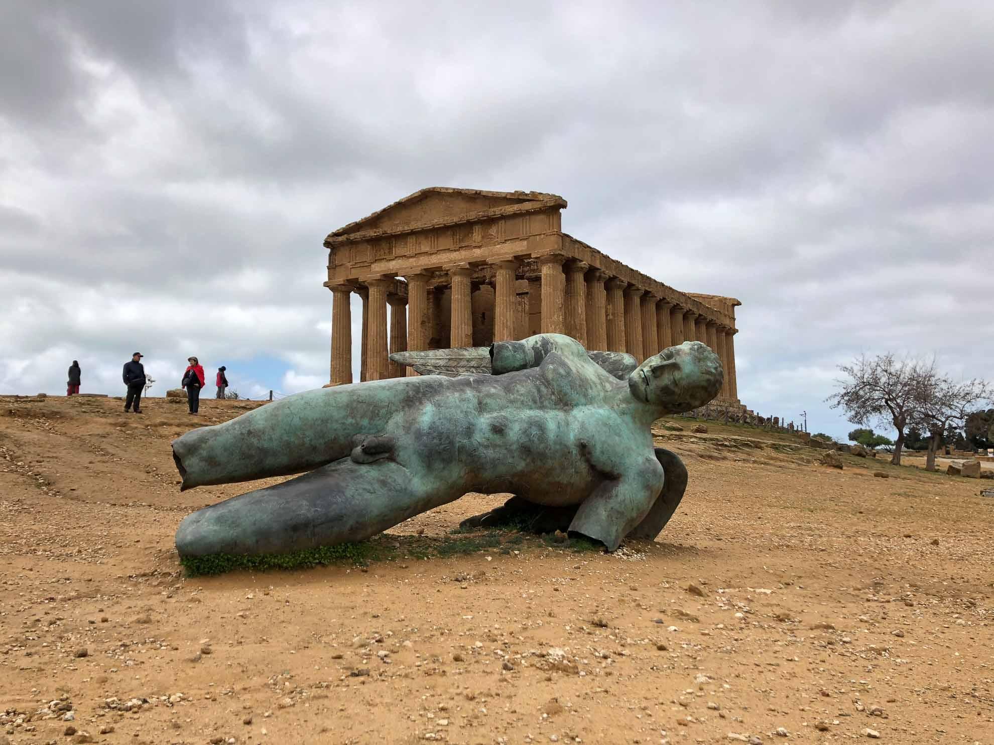 Er wurde um 440 v. Chr. errichtet ...