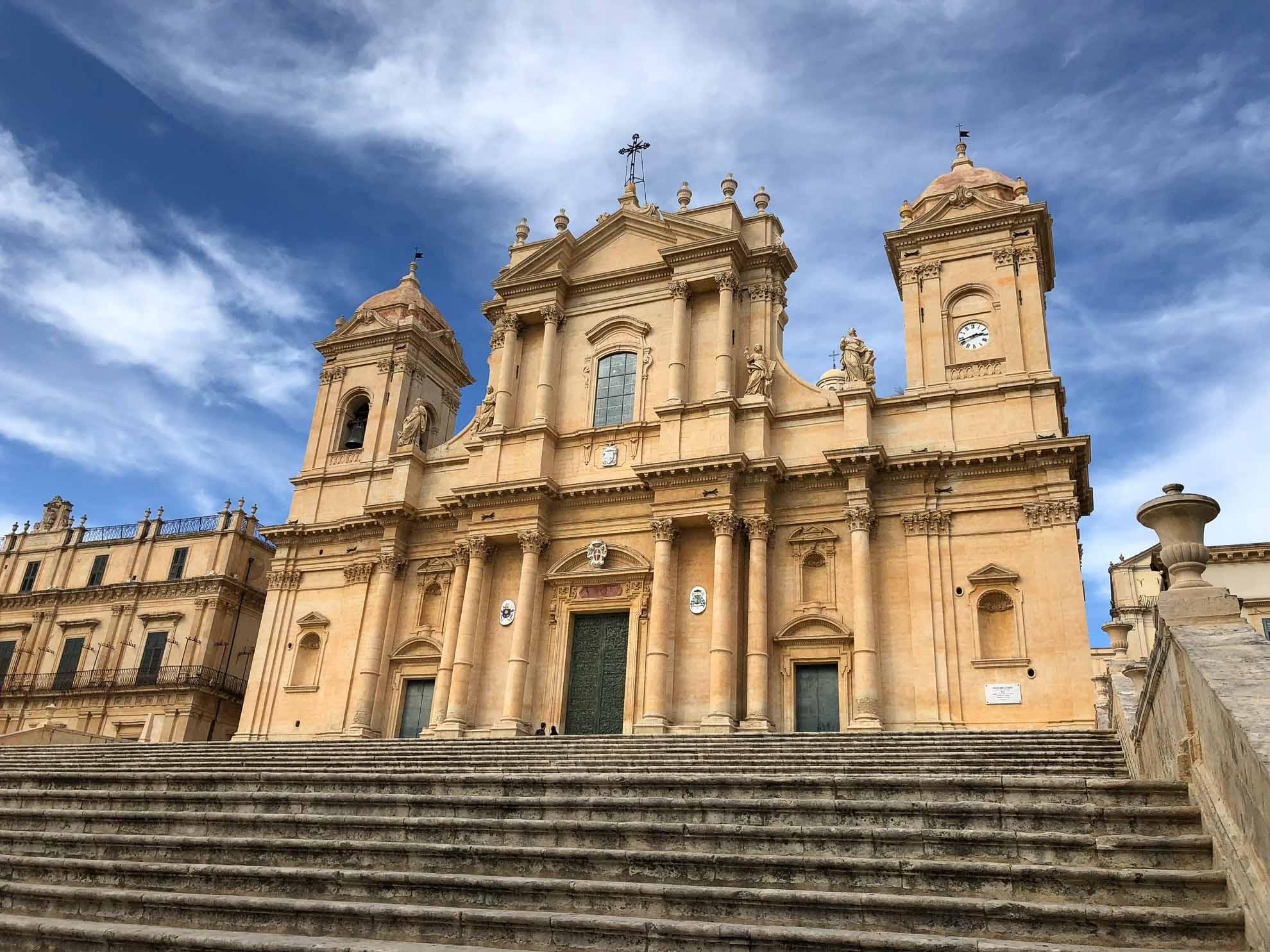Die Kathedrale von Noto.