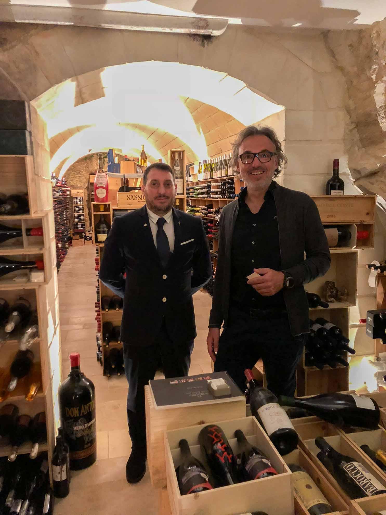 Feiner Einkauf – Besuch beim sizilianischen Weinhändler.