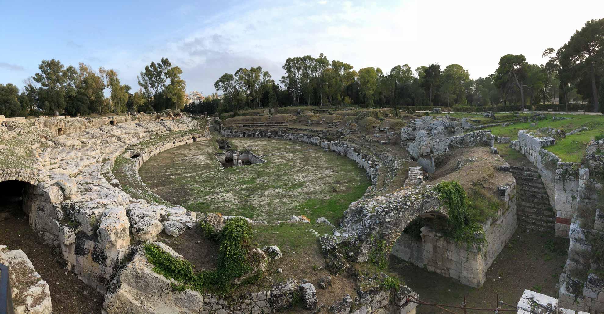 """Syrakus, auf Italienisch """"Siracusa"""", war einst das kulturelle Zentrum Siziliens."""