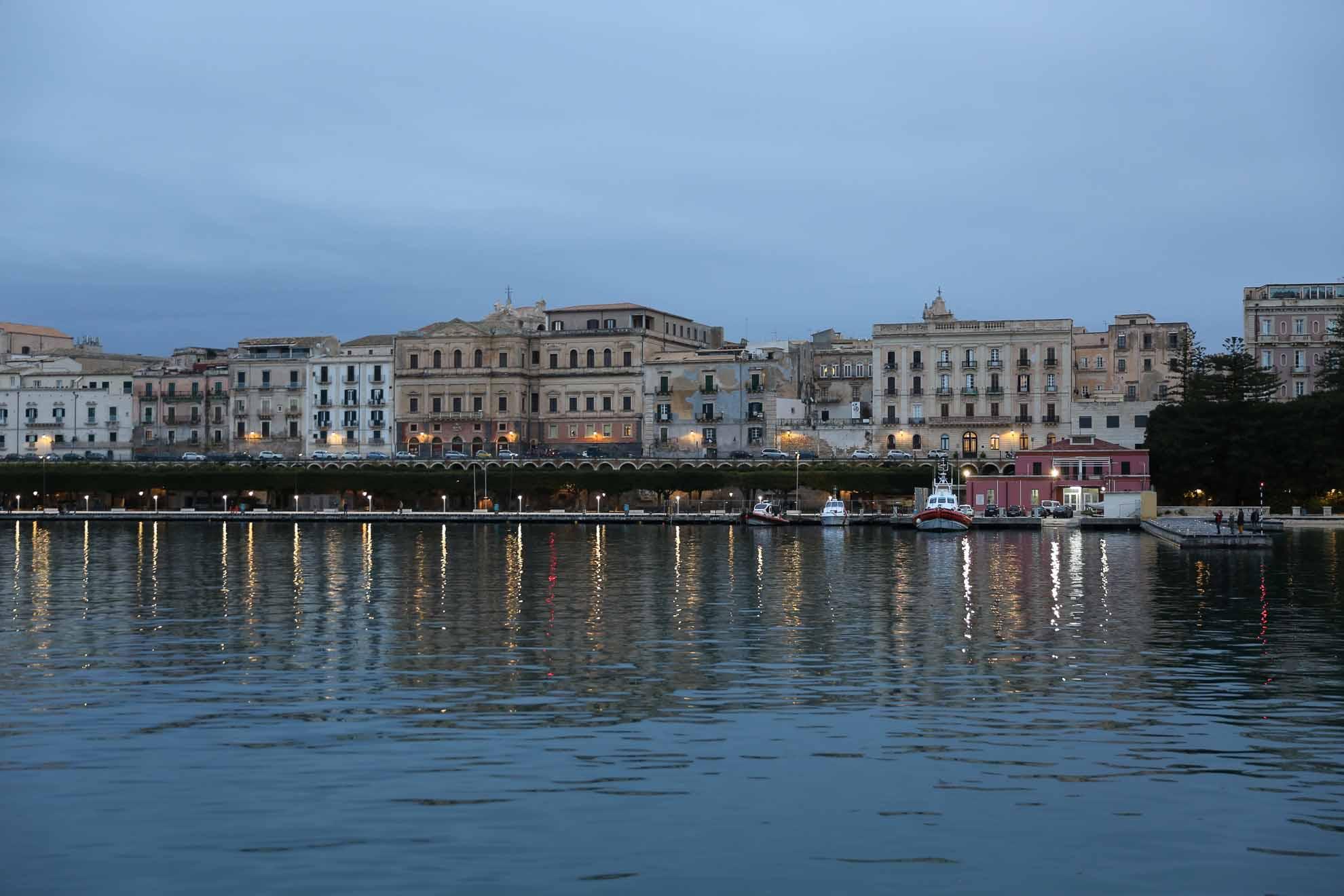 Das nächste Ziel heißt Syrakus auf Sizilien.
