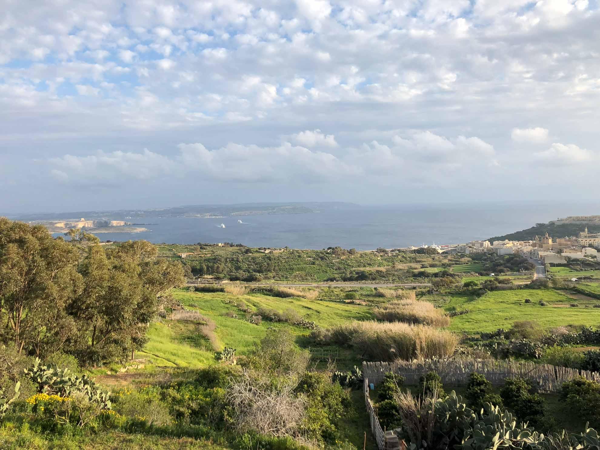 """Gozo, auf Maltesisch """"Ghawdex"""", erstreckte sich auf 67 Quadratskilometern im Nordwesten der Hauptinsel Malta."""