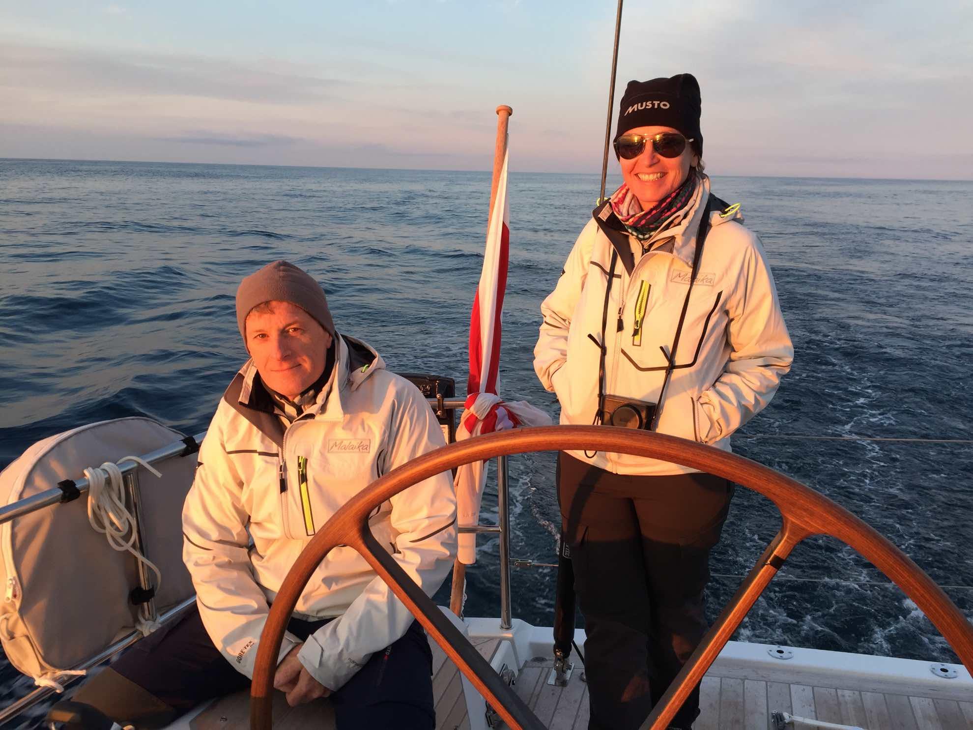 Unser Projektleiter und Freund Arno begleitet uns die ersten beiden Tage bis A Coruña.