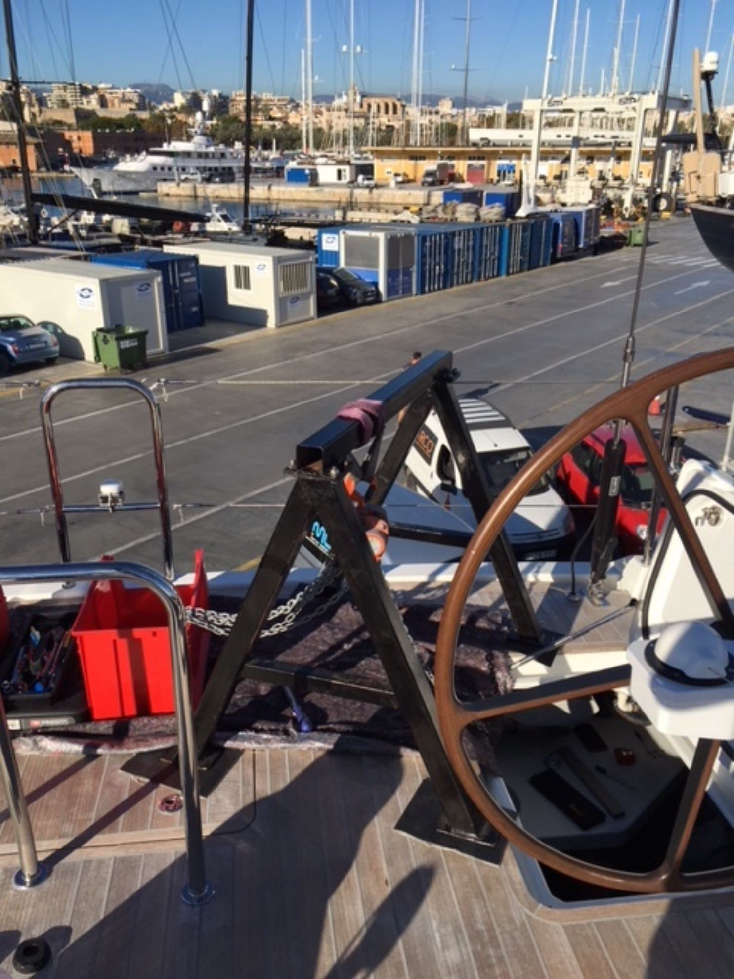 Zeit für einige Reparaturen in der STP Shipyard.