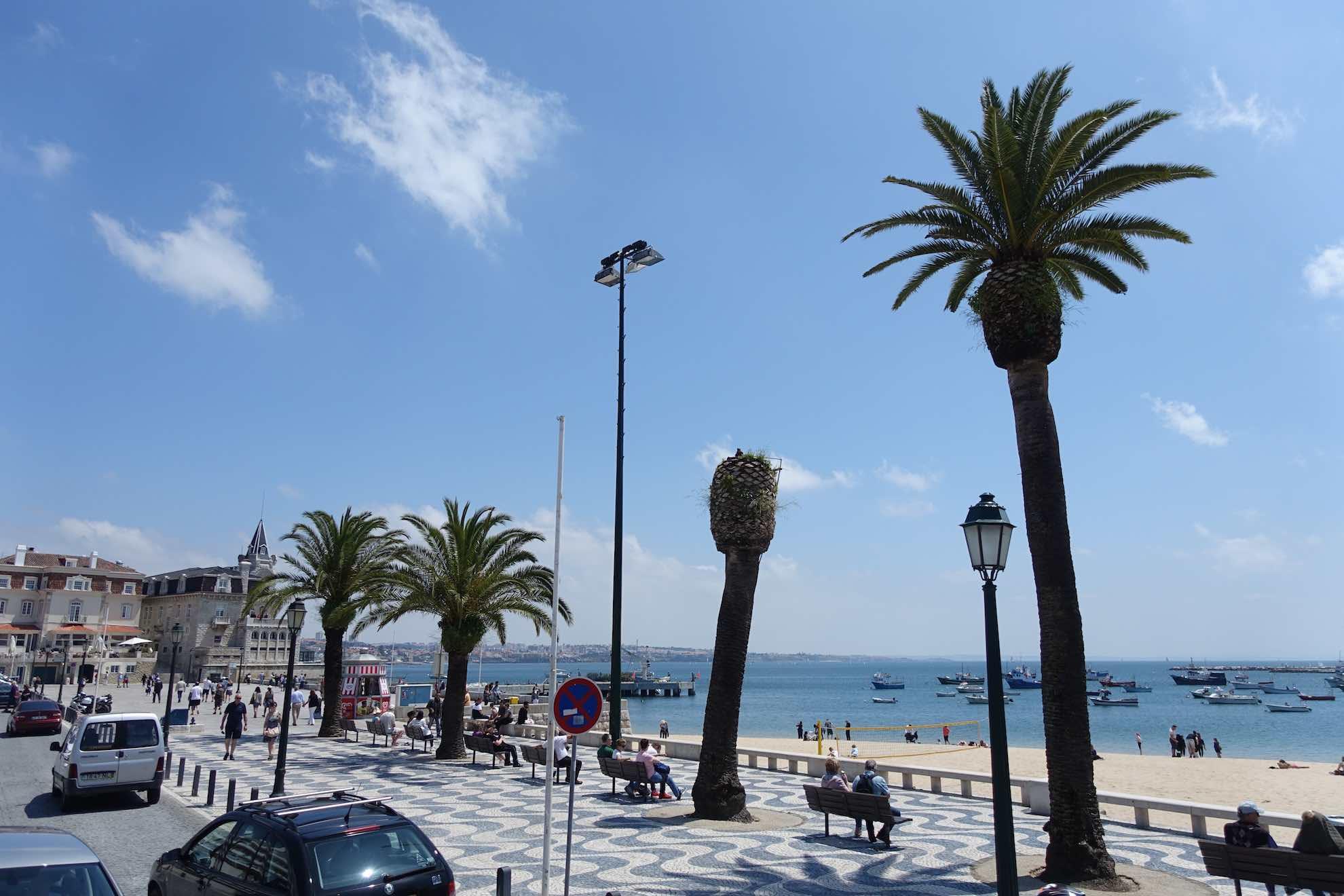 Cascais ist ein nobler Vorort von Lissabon.