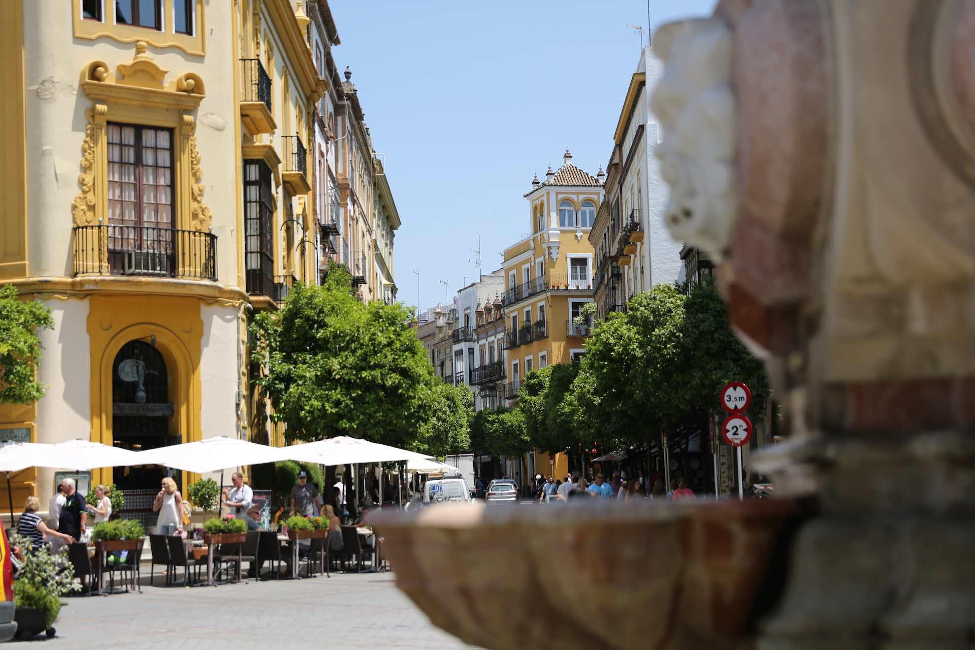 Sevilla war das Handelszentrum Spaniens mit der Neuen Welt nach deren Entdeckung durch Kolumbus.