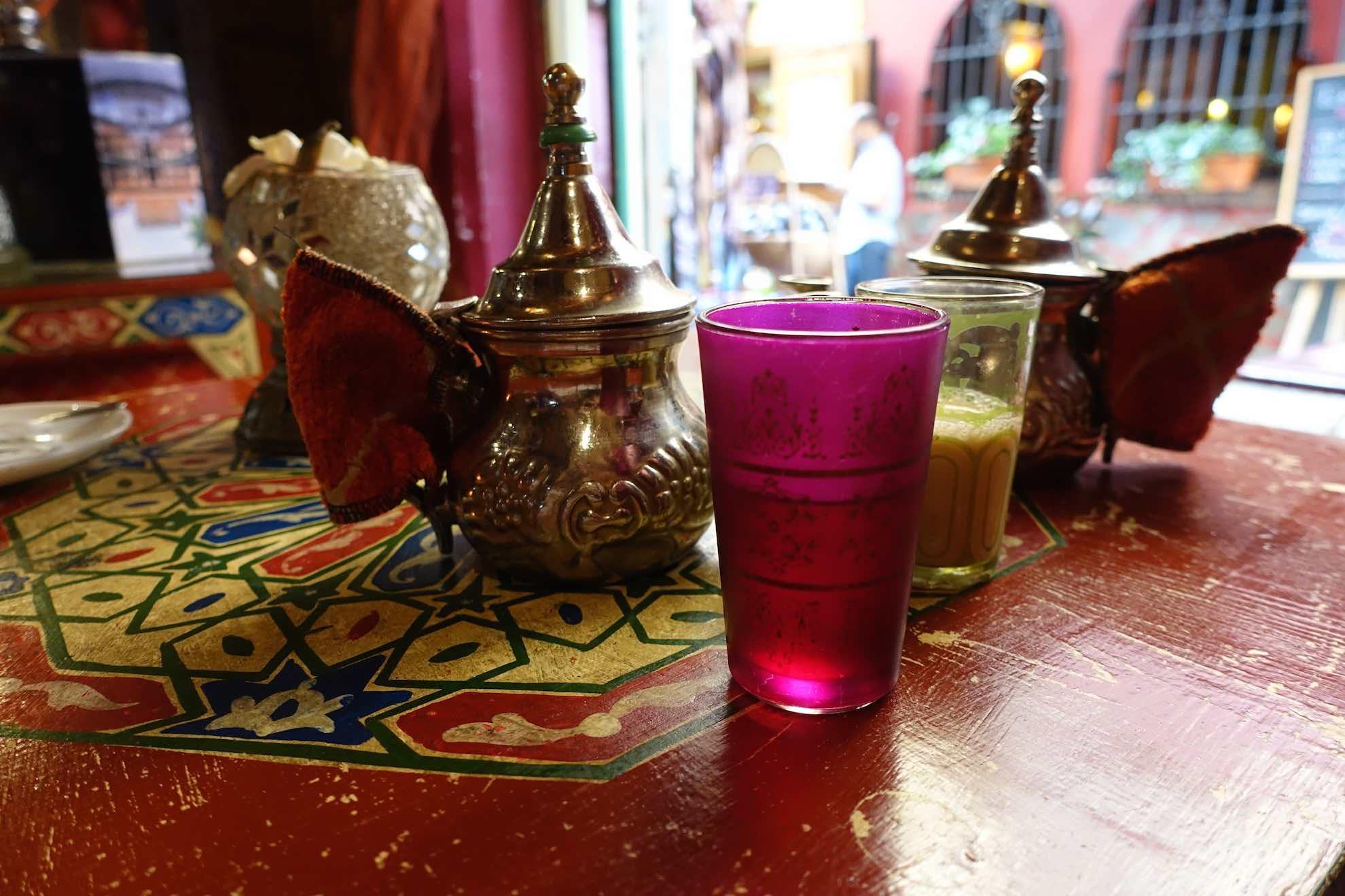 Arabische Tee-Pause im Albayzin-Viertel.