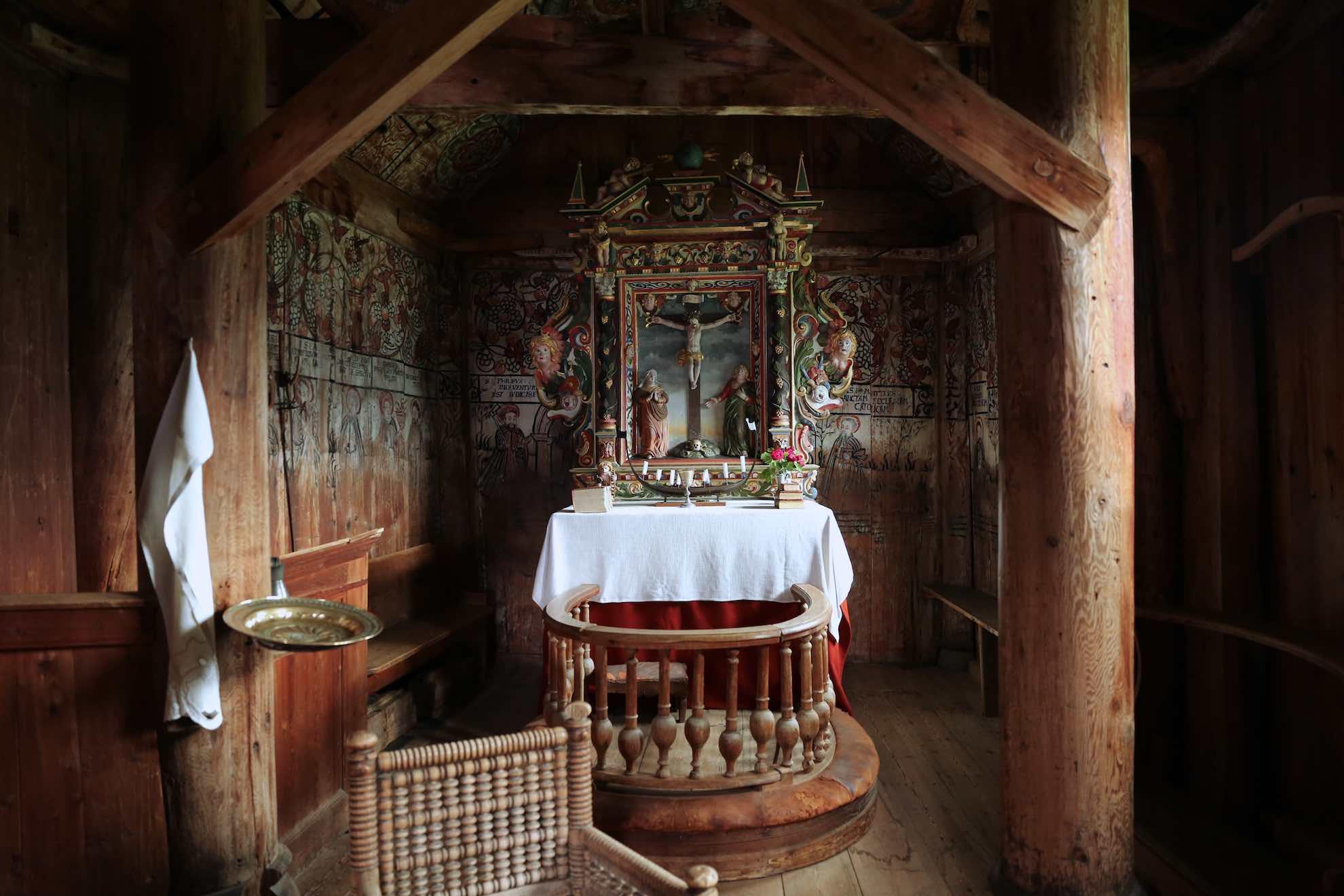 Der kleine Altar.